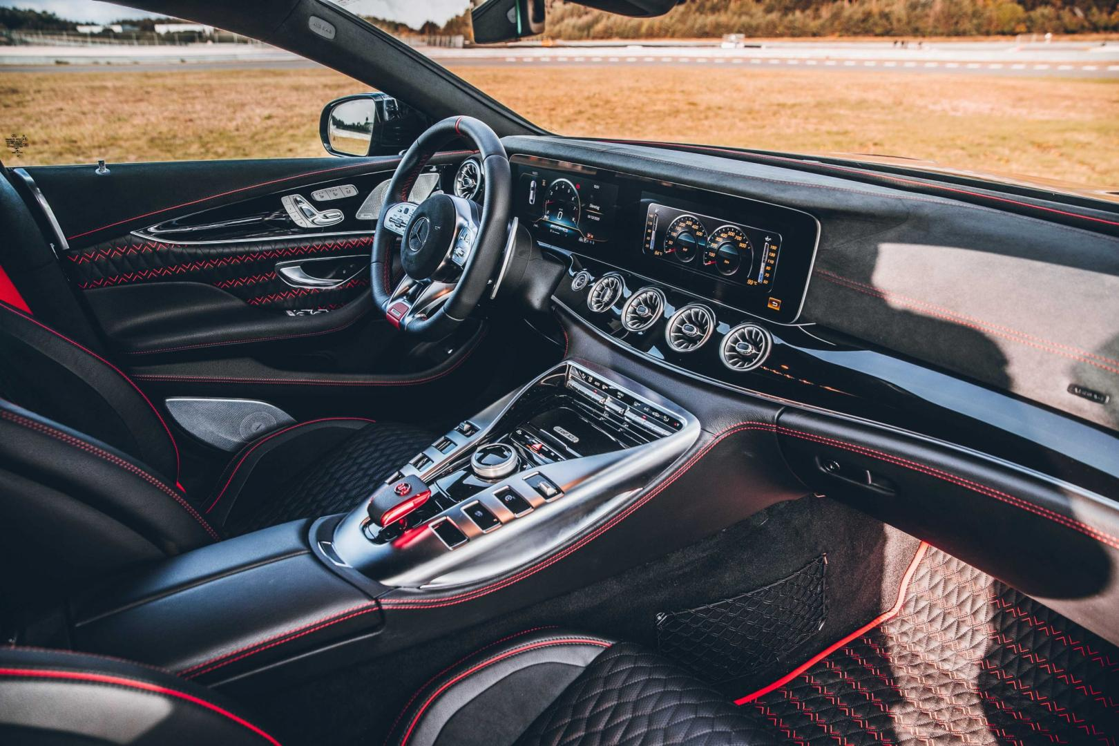 Interieur Brabus Rocket 900 op basis van Mercedes-AMG GT 63 S 4-Door