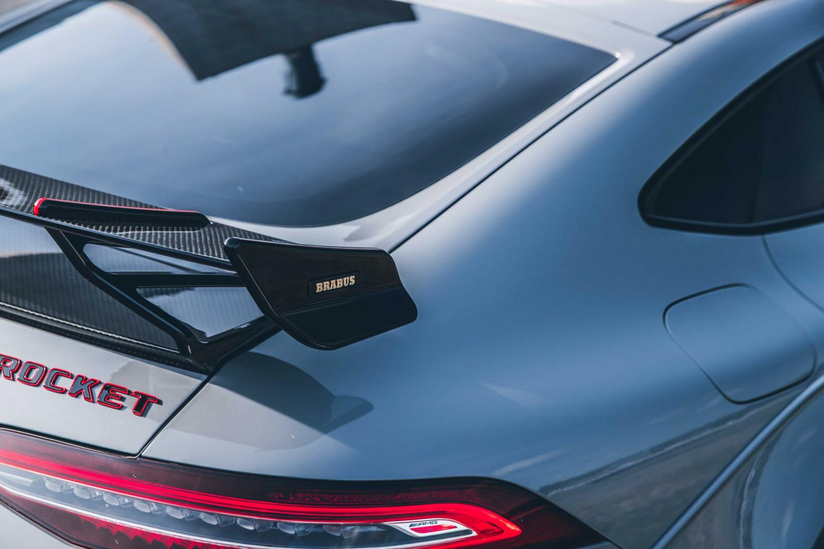 Spoiler Brabus Rocket 900 op basis van Mercedes-AMG GT 63 S 4-Door