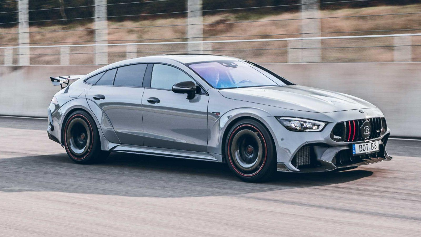 Brabus Rocket 900 op basis van Mercedes-AMG GT 63 S 4-Door