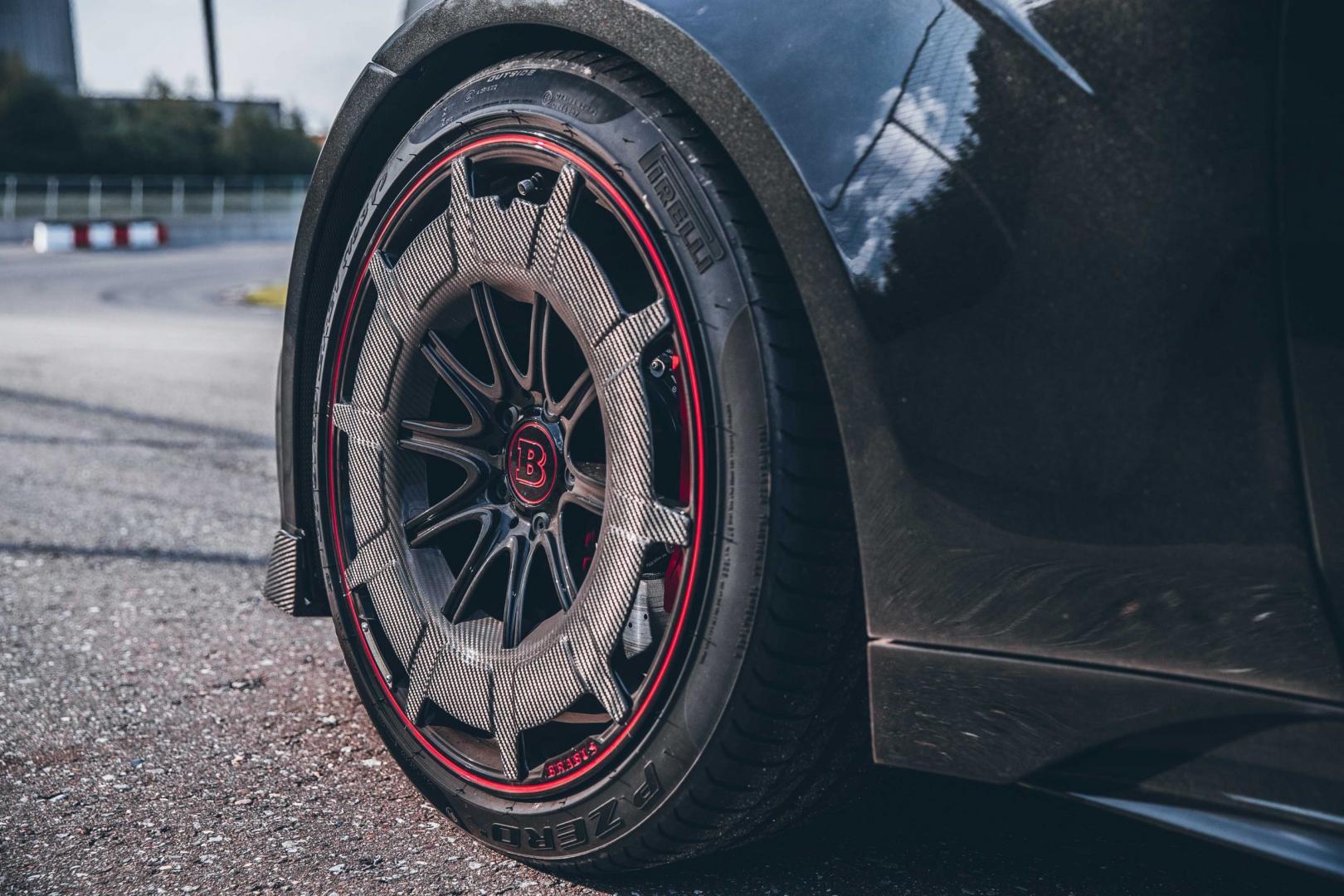 wielen Brabus Rocket 900 op basis van Mercedes-AMG GT 63 S 4-Door