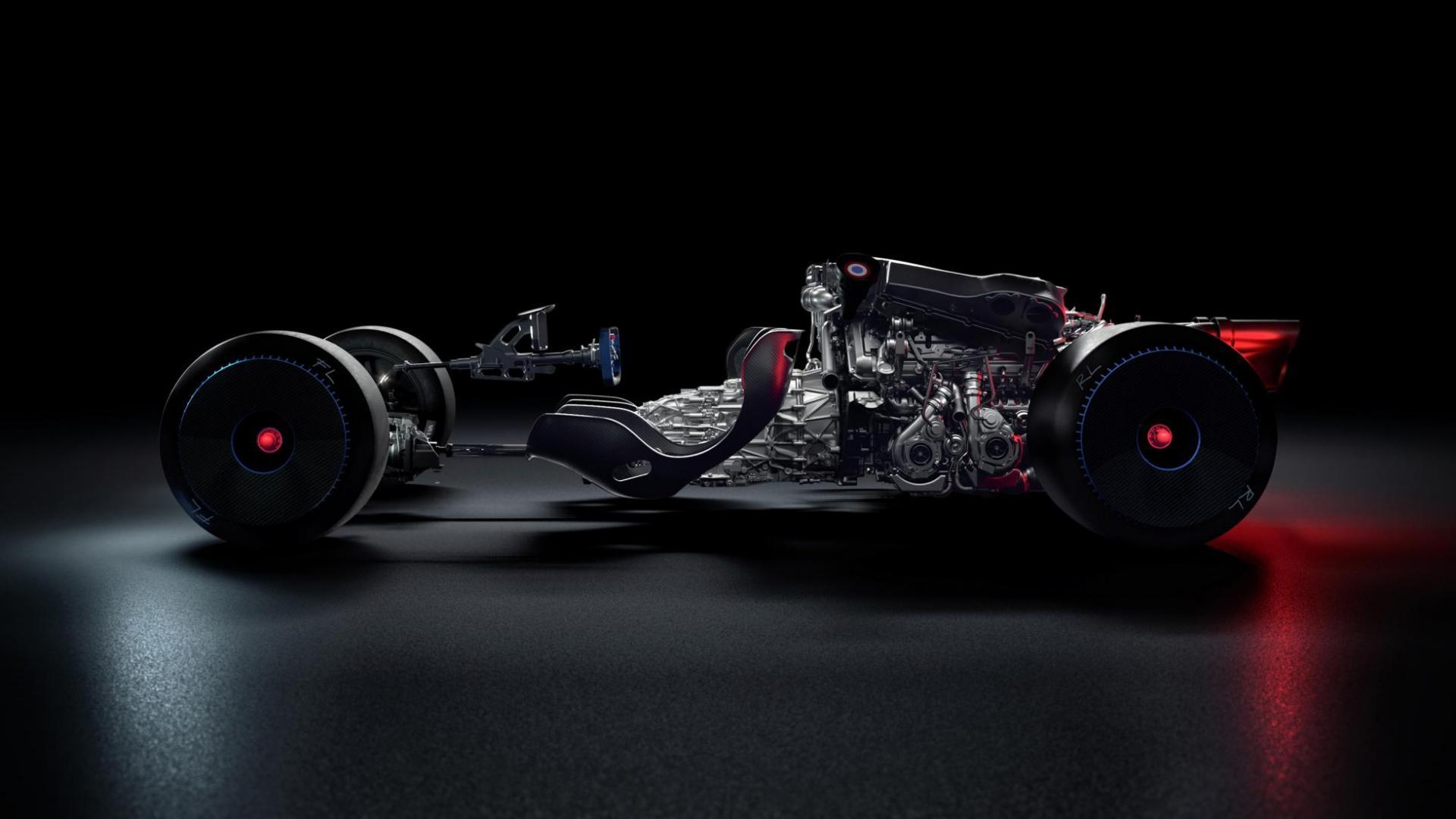 Chassis Bugatti Bolide 2020