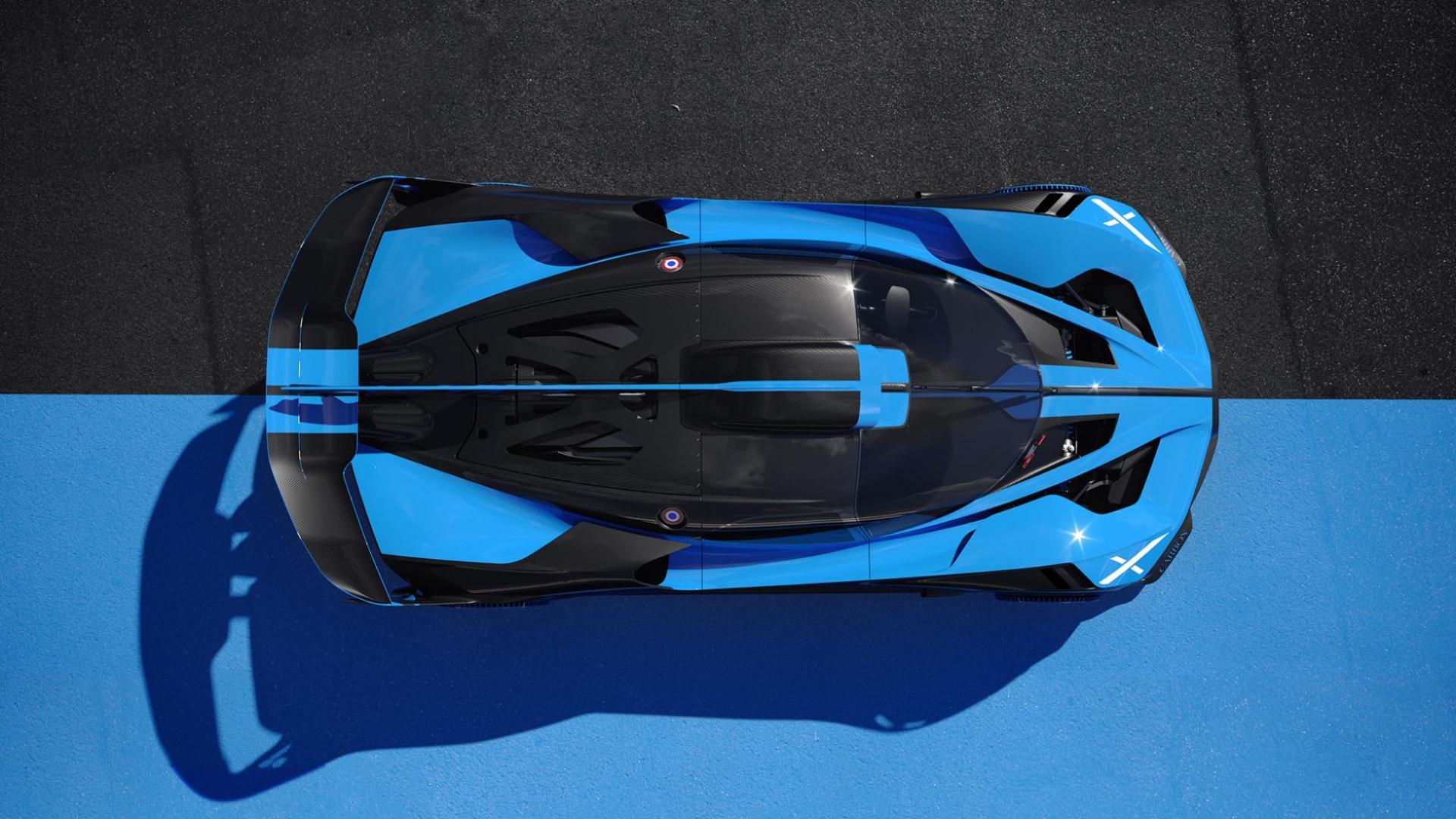 Bovenkant Bugatti Bolide 2020 (11)