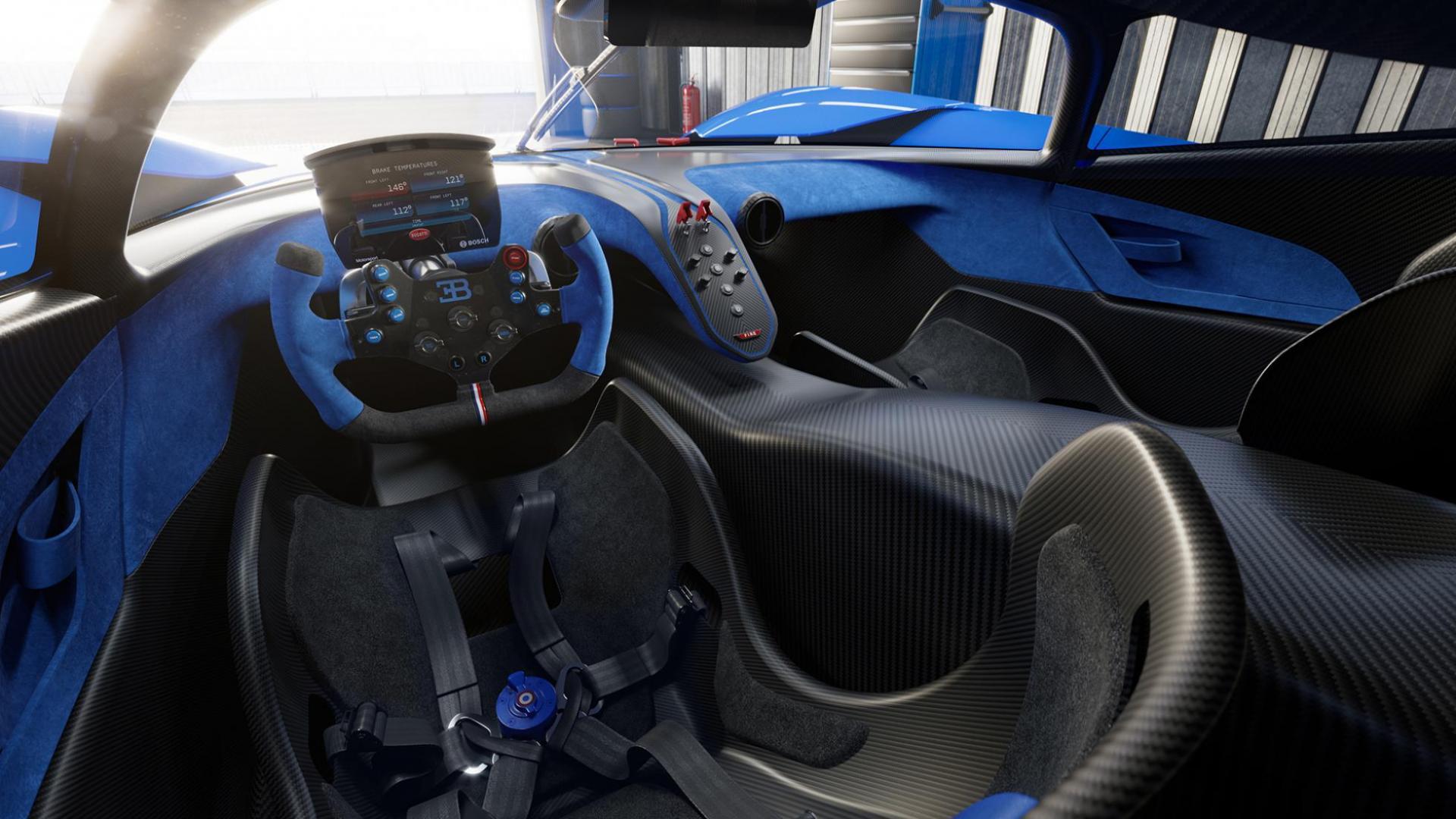 Interieur Bugatti Bolide 2020