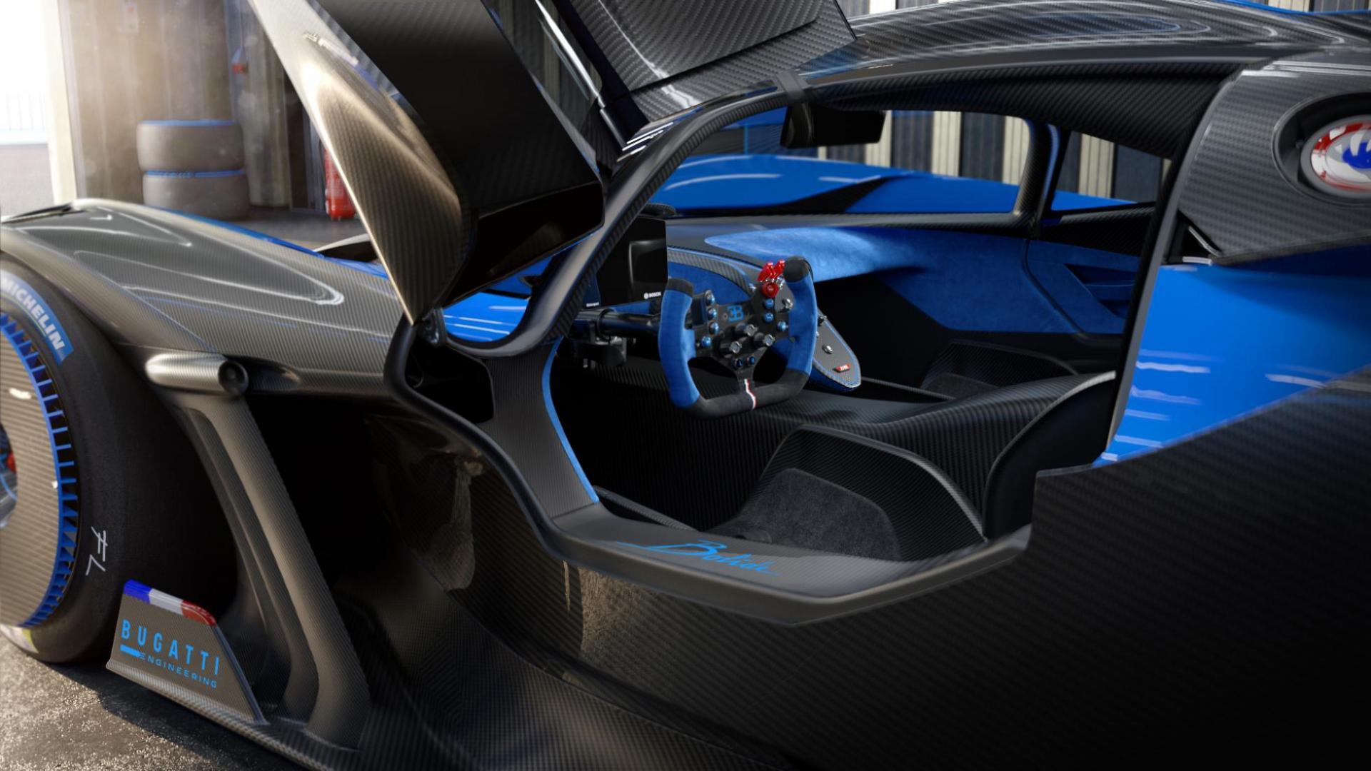 Bugatti Bolide Gullwing-doors