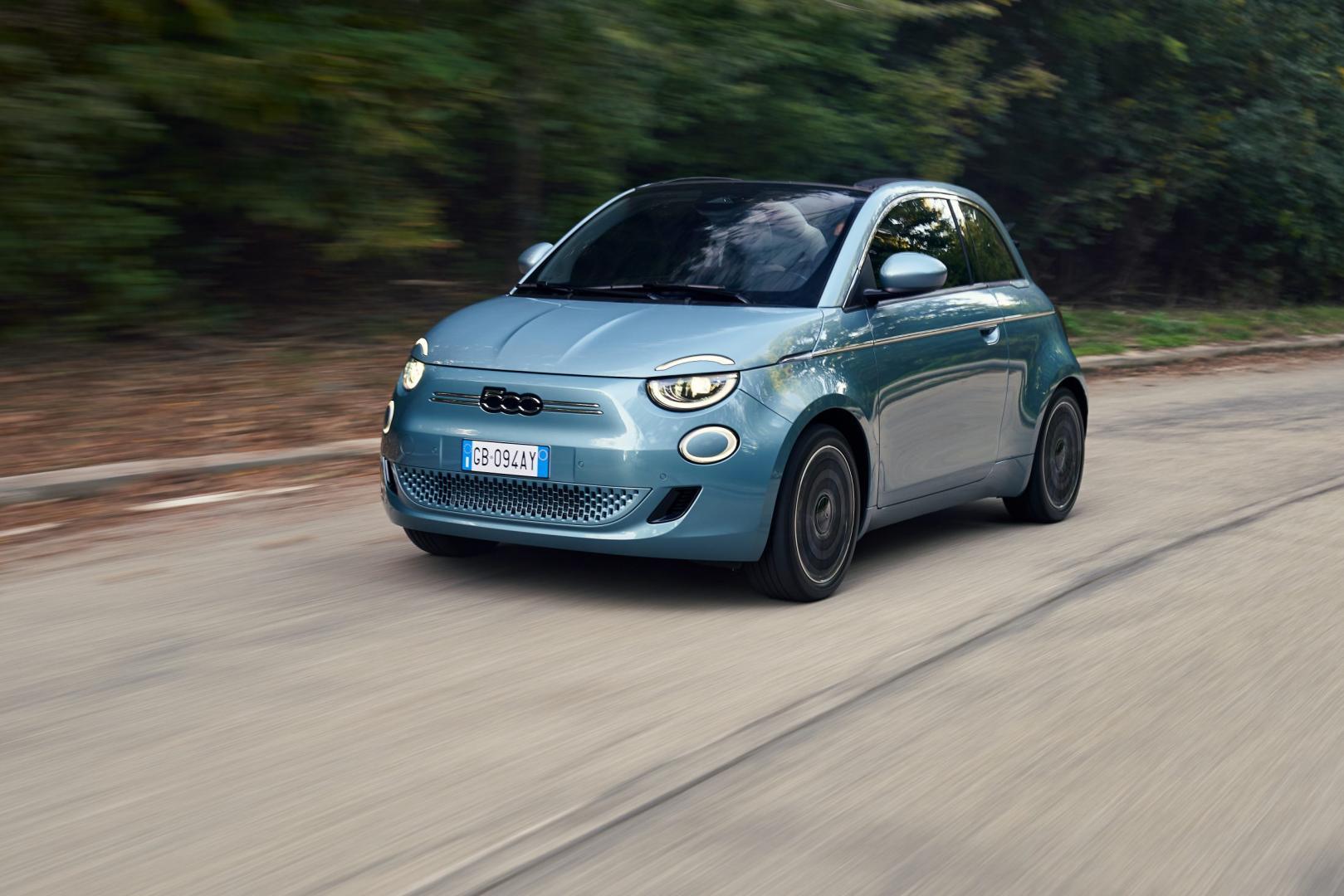 New Fiat 500 elektrisch