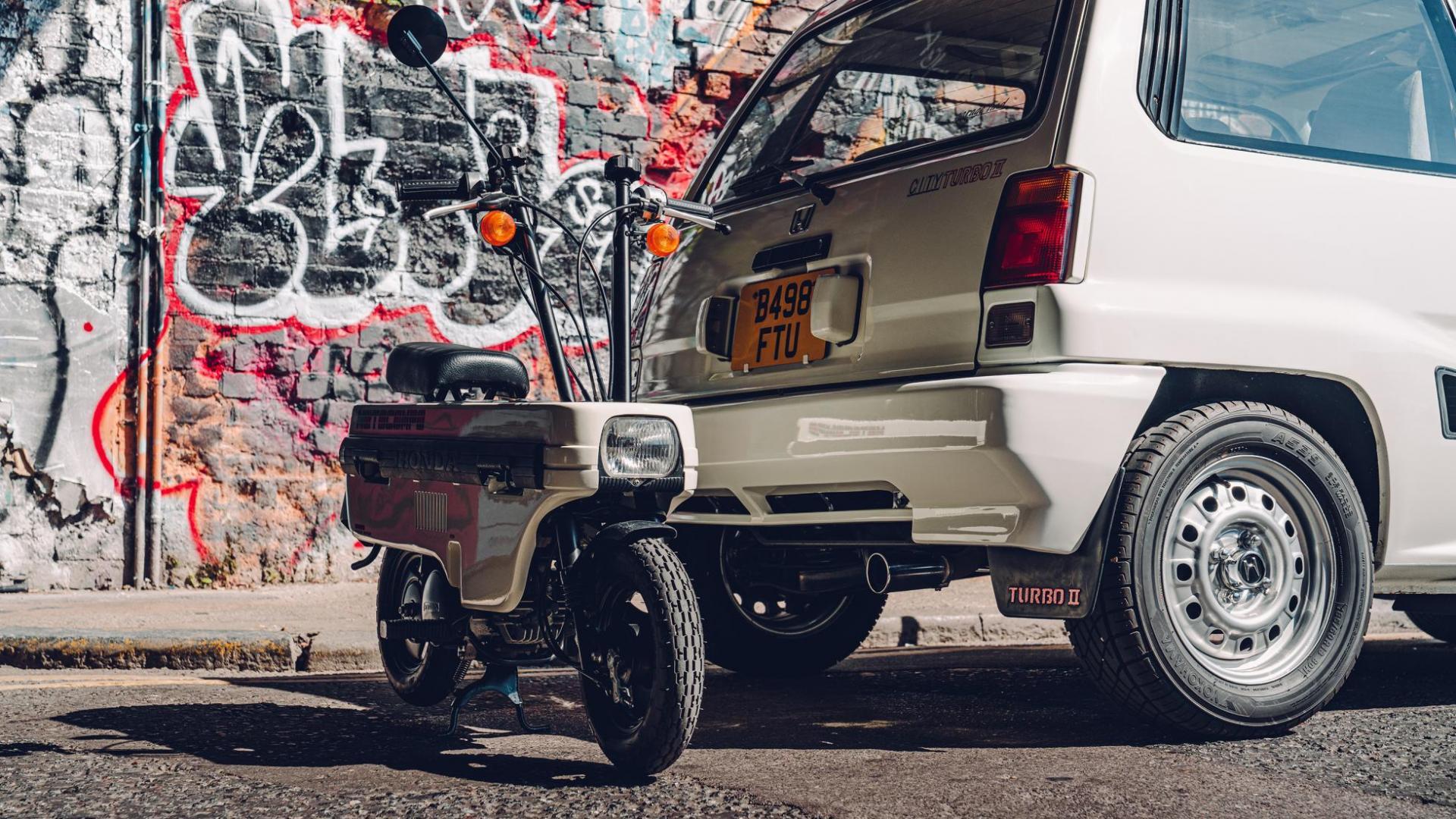 Honda City Turbo en Motocompo