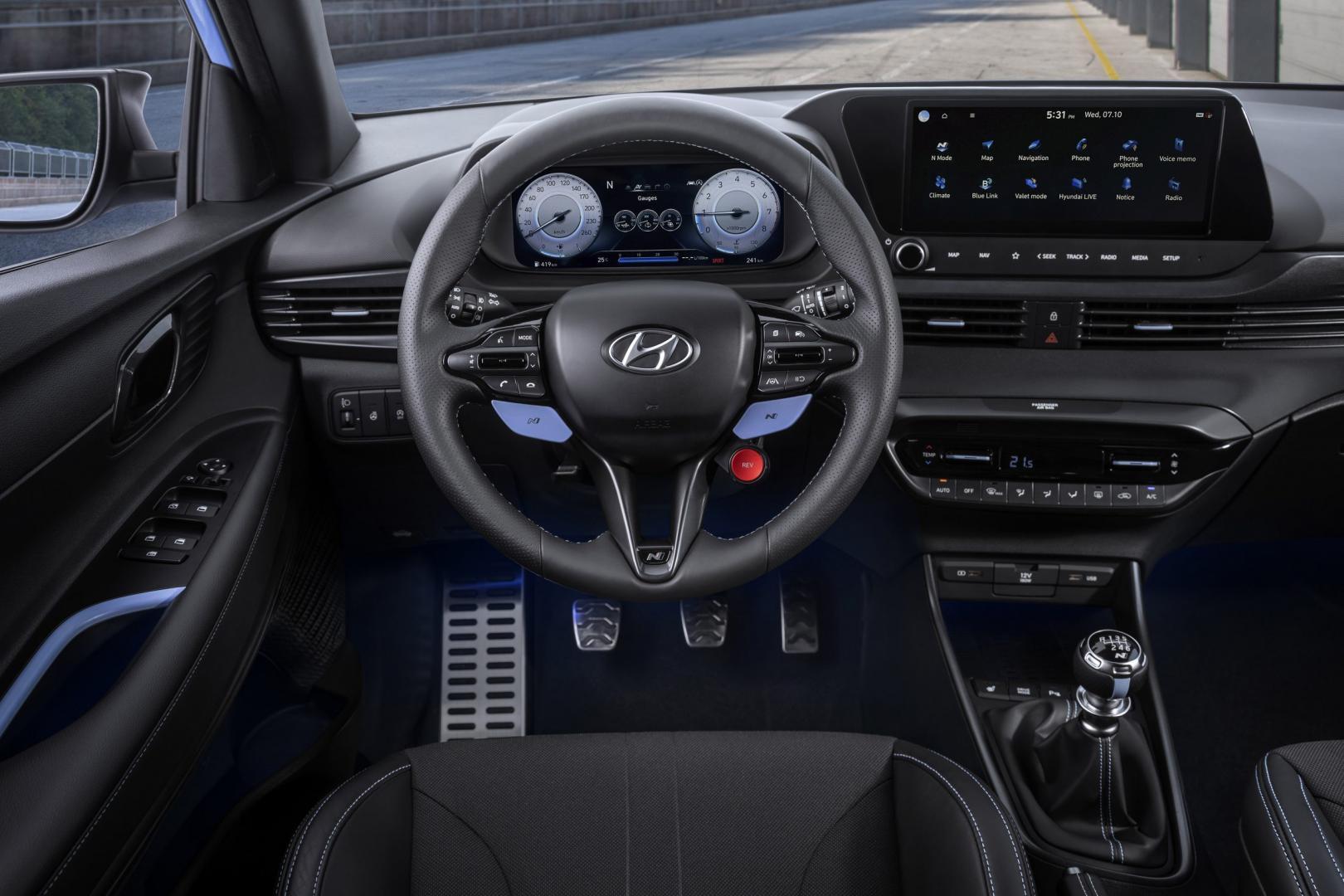 interieur Hyundai i20n 2020