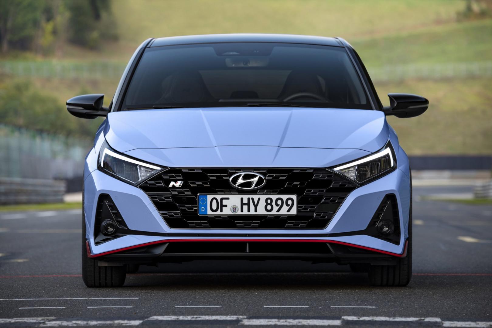 Hyundai i20 n 2020 voorkant