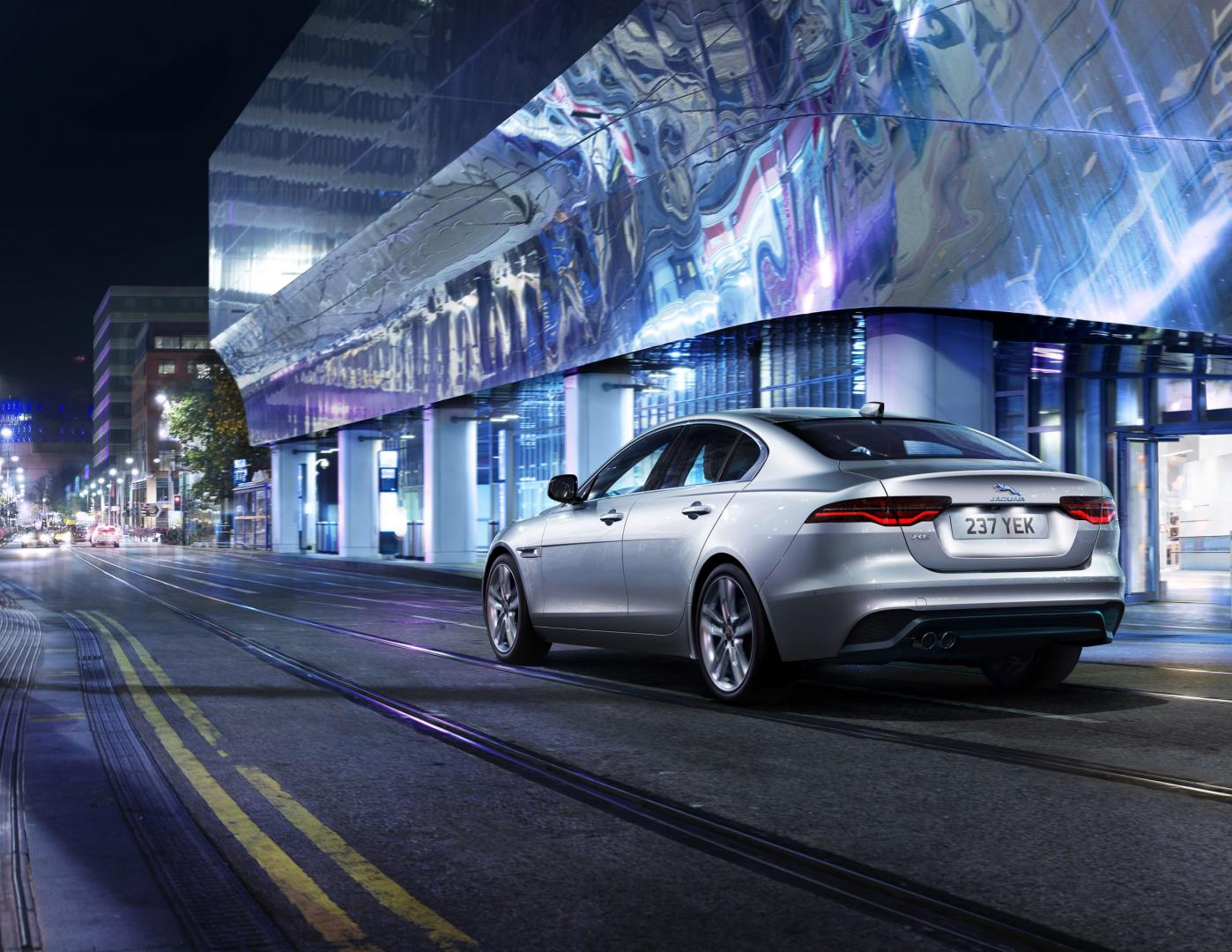 Jaguar XE facelift 2020