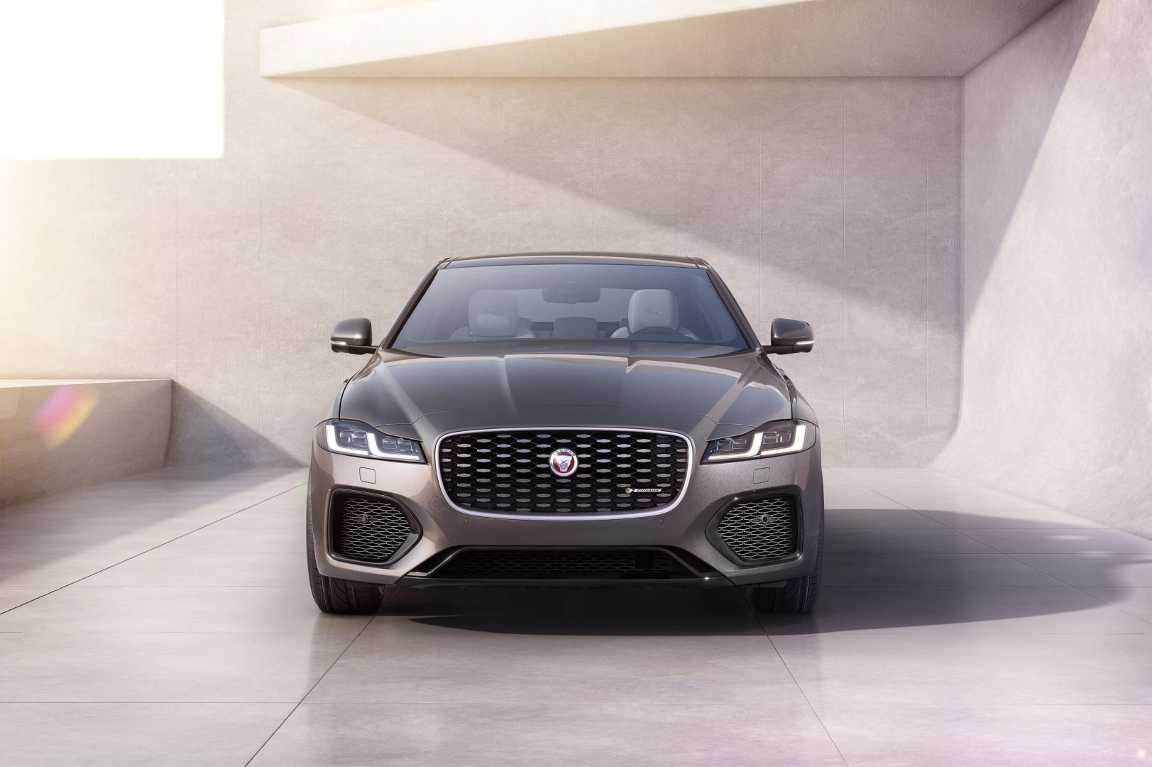 Jaguar XF facelift 2020