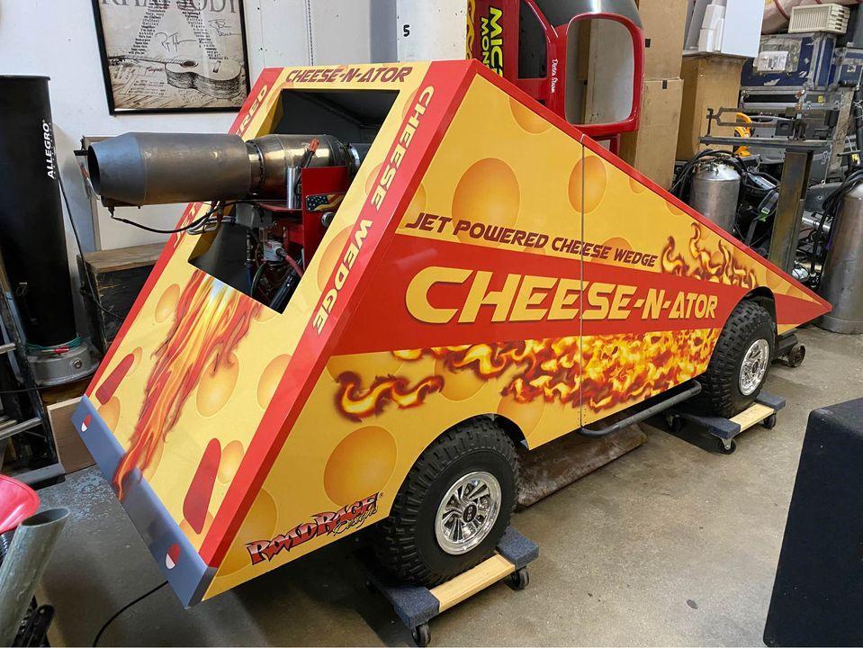 Cheese-N-Ator snelste stuk kaas