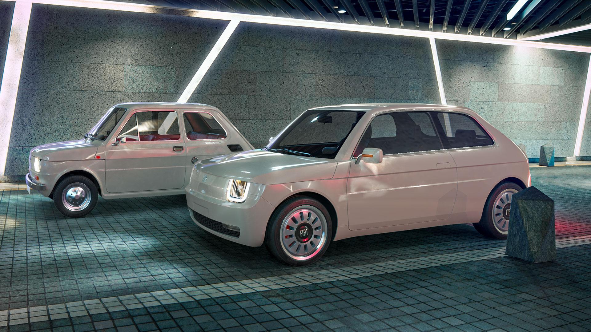 elektrische Fiat 126