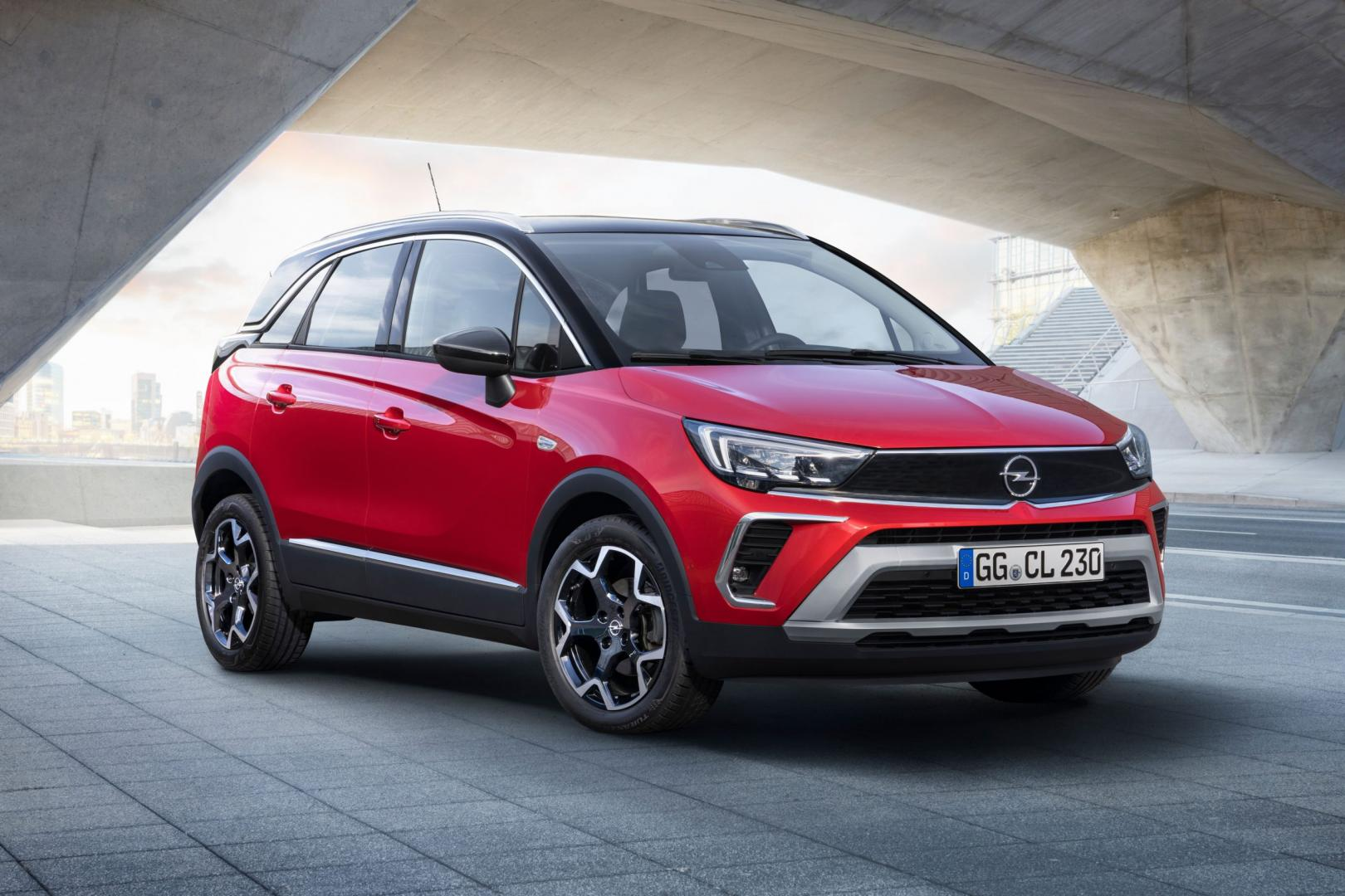 Opel Crossland Facelift 2020