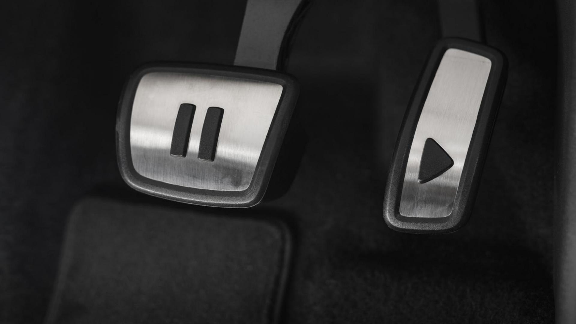 Pedalen in het interieur van de Volkswagen ID.3 2020