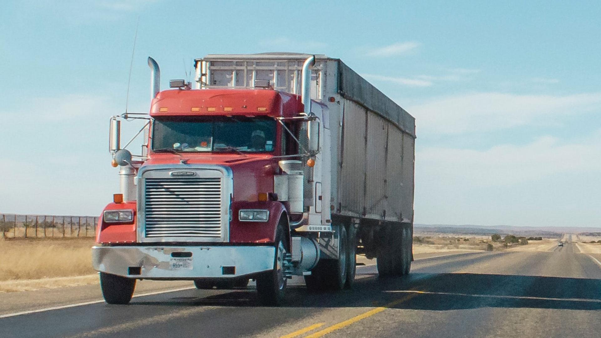 Peterbilt vrachtwagen