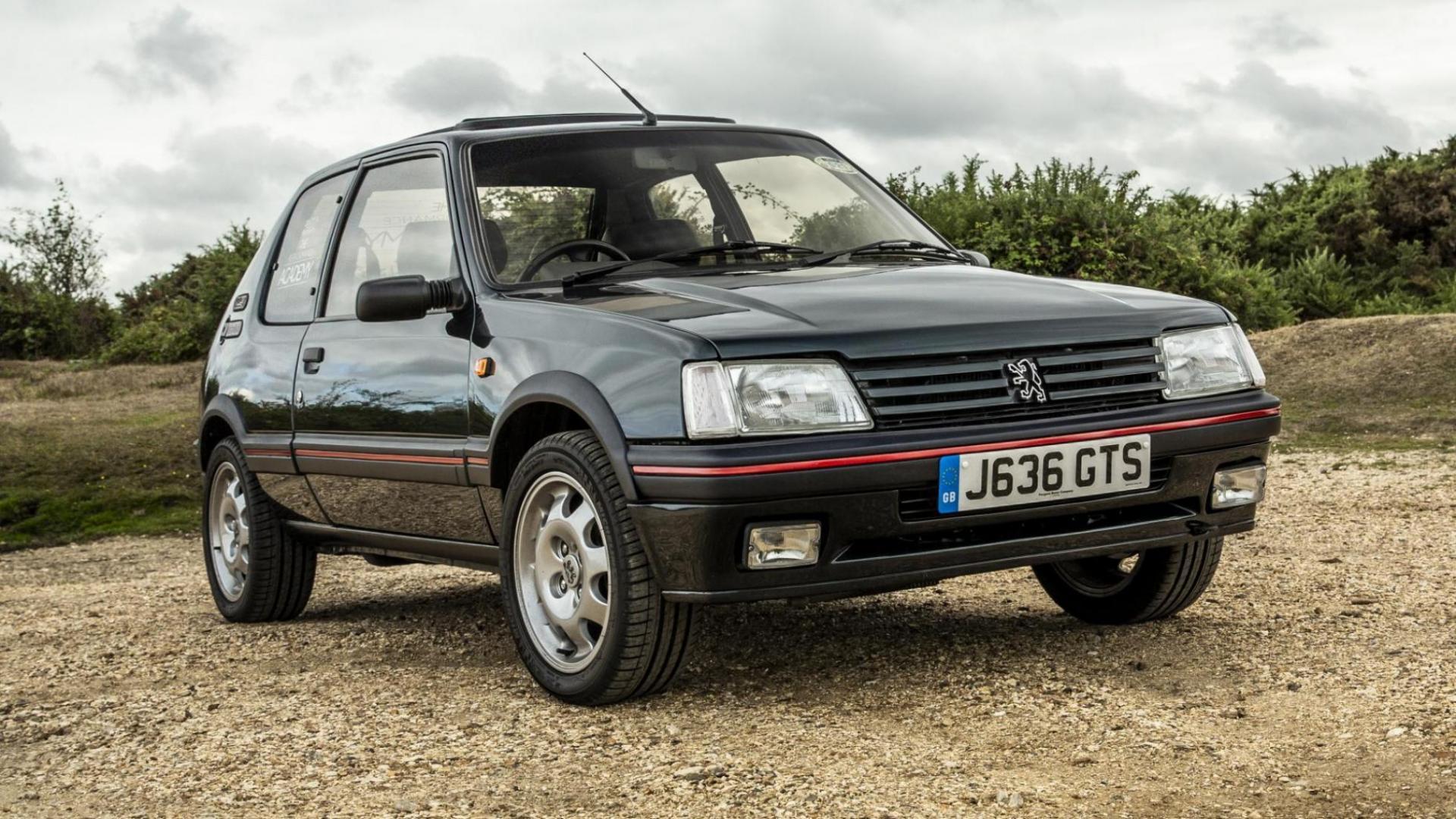 Peugeot gaat 205 GTI's restaureren