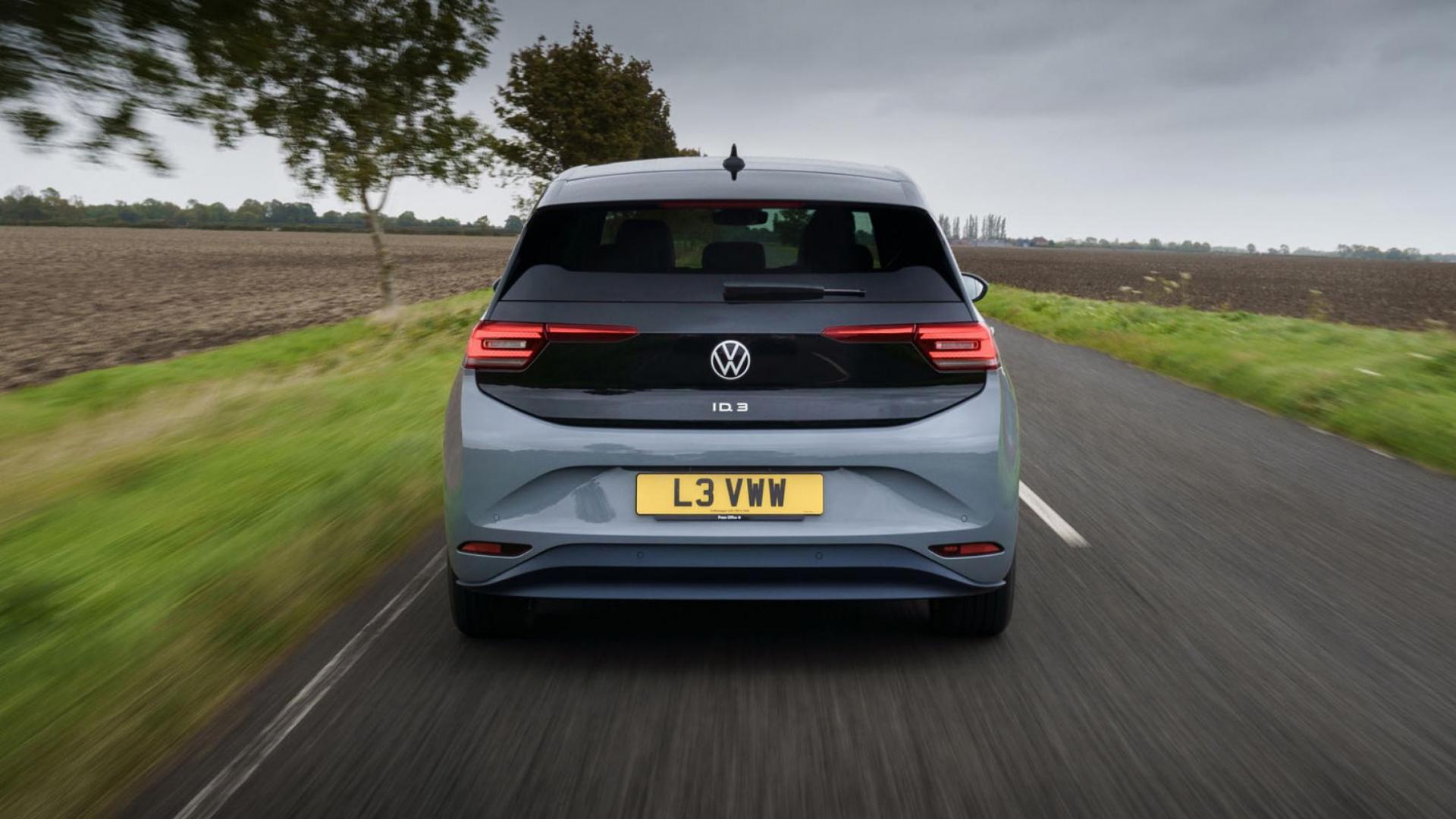 Achterkant Volkswagen ID.3