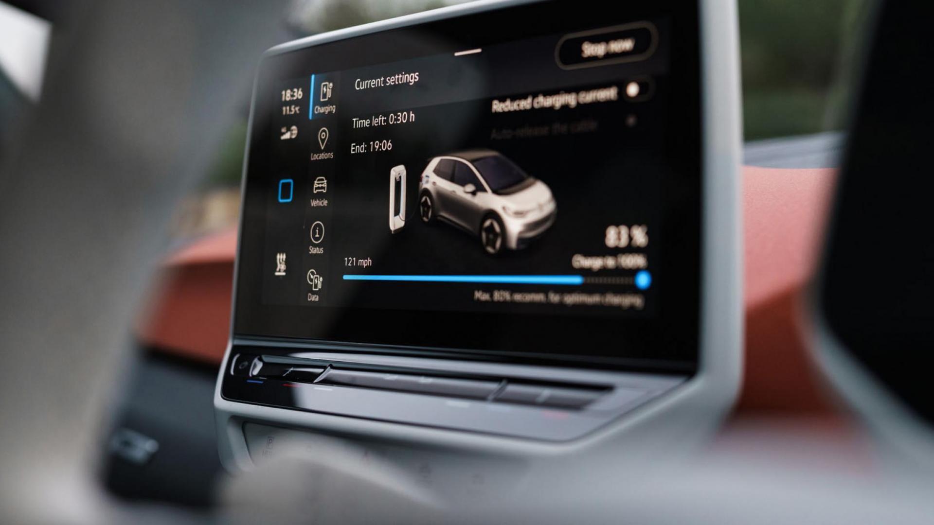 Scherm Volkswagen ID.3 2020