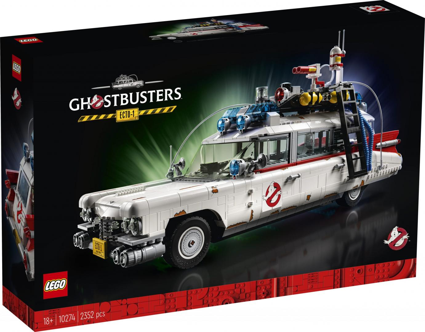 Doos Lego Ecto-1 - Auto uit Ghostbusters