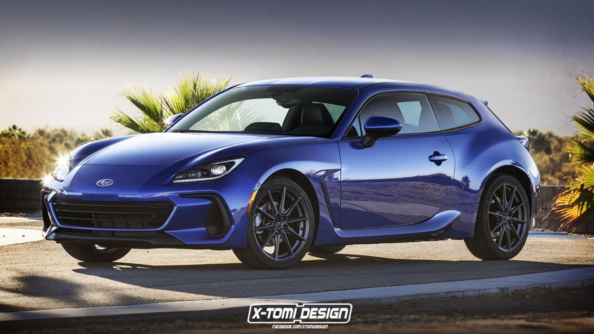 Subaru BRZ van X-Tomi Design