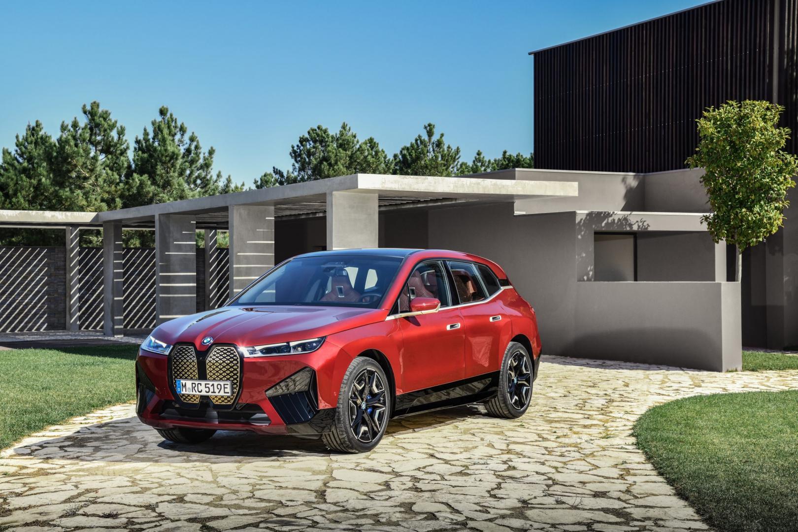 Elektrische BMW ix 2021