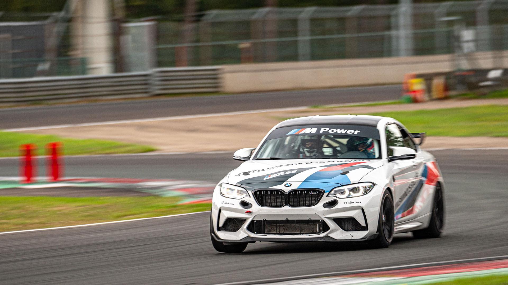 BMW M2 CS Racing op Circuit Zolder