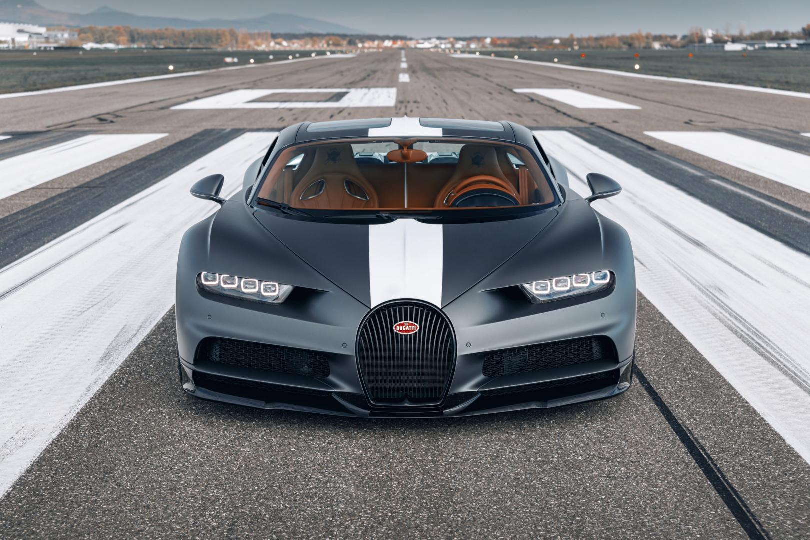 Bugatti Chiron Sport piloten 'Les Légendes du Ciel' 2020