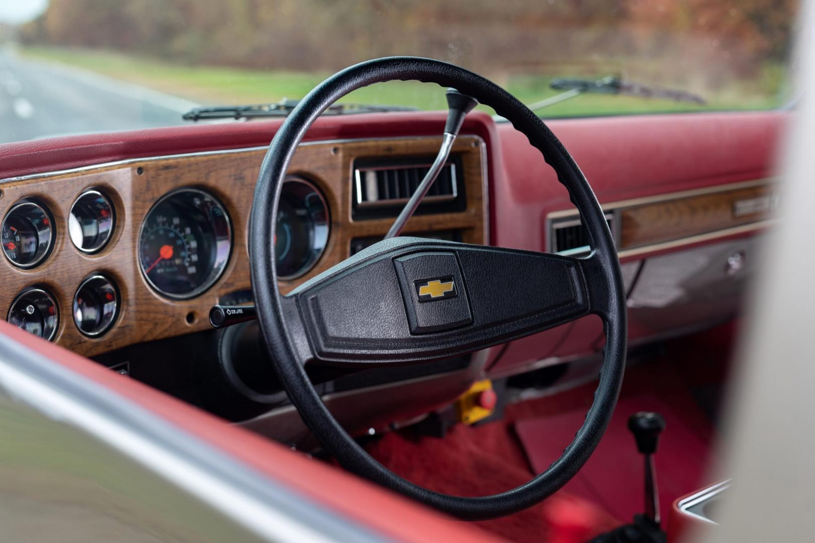 Chevrolet K5 Blazer (1977) met eCrate elektromotor