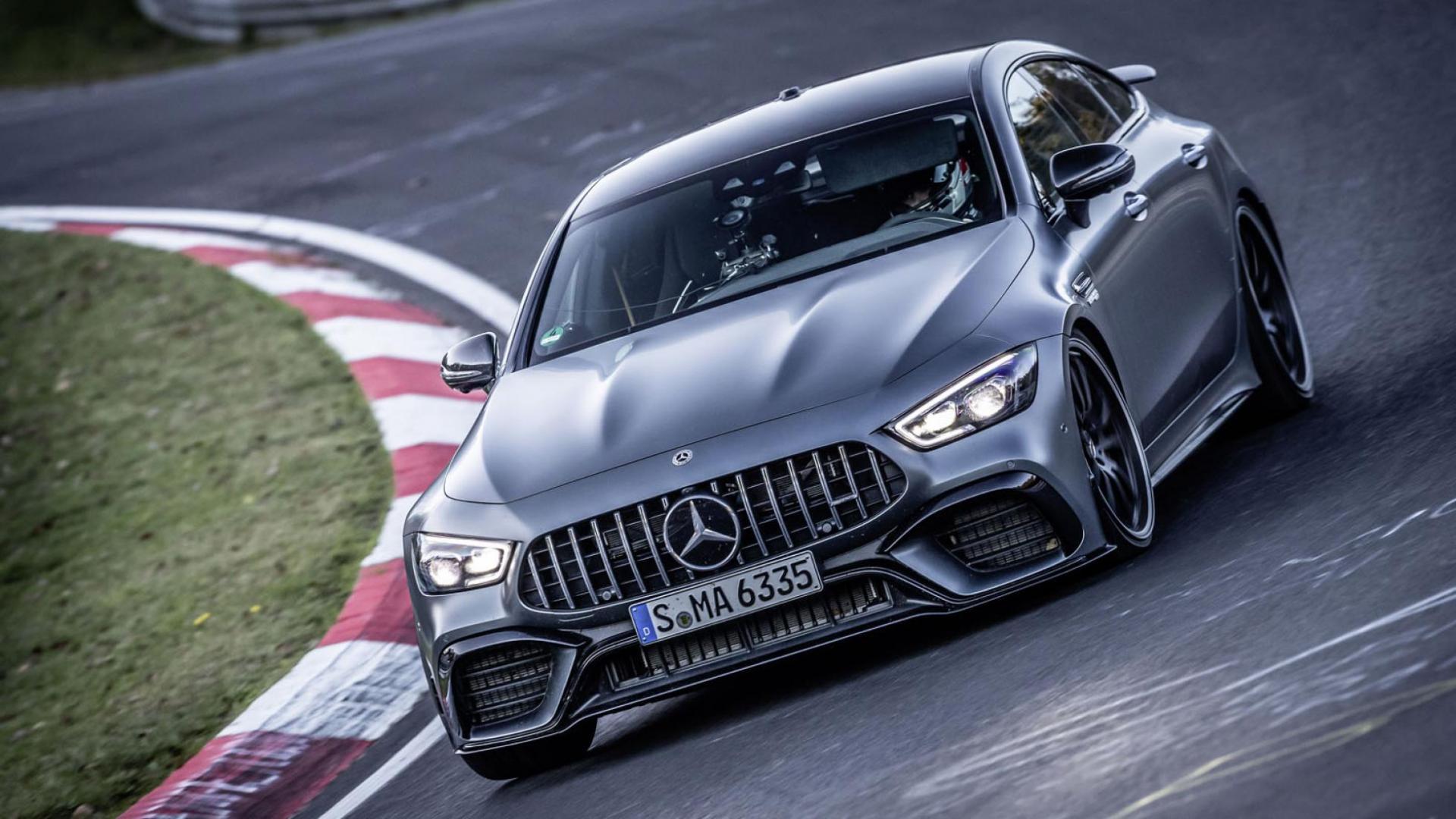 Mercedes-AMG GT 4-Door Nurburgring-record