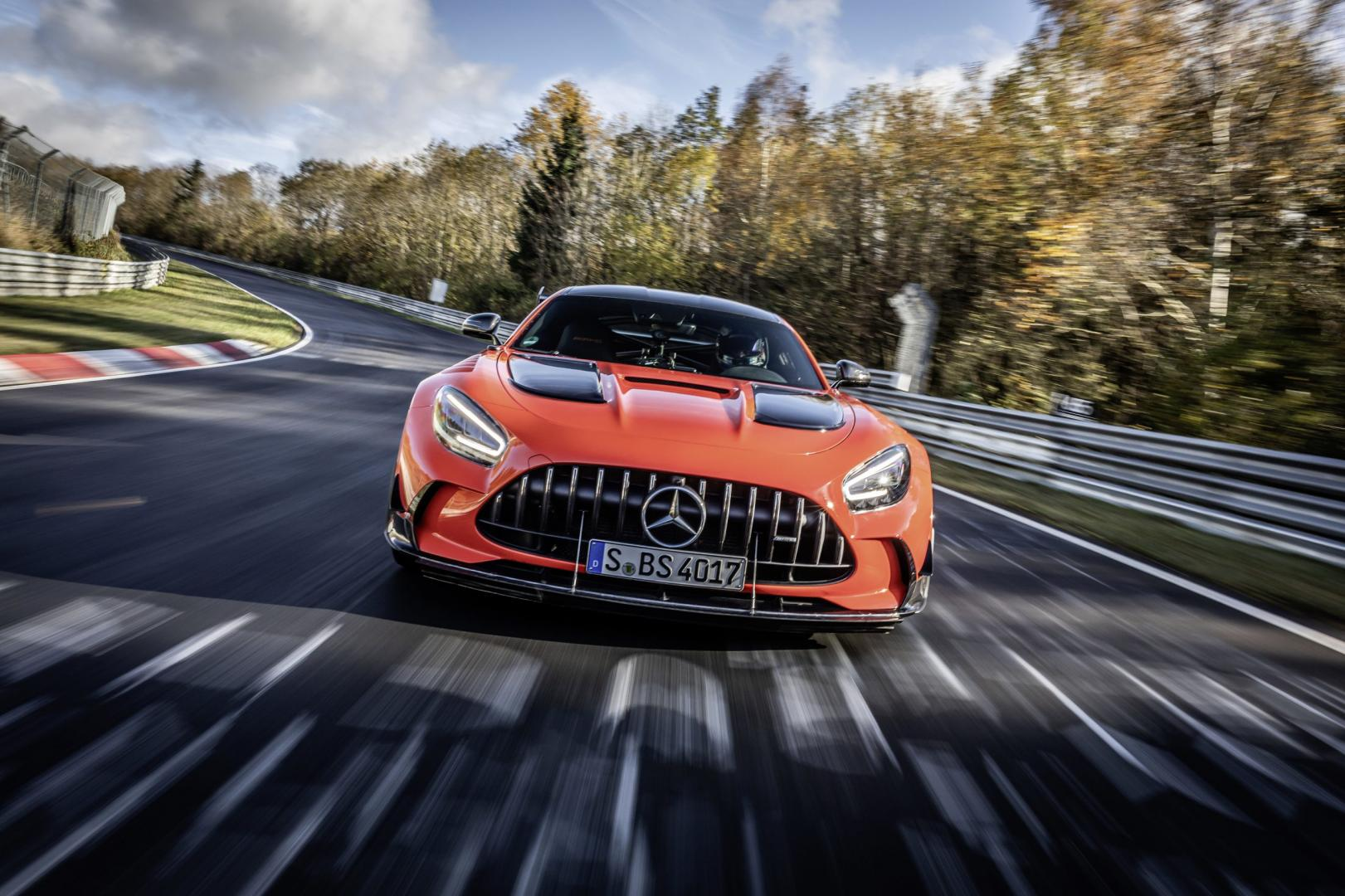 Mercedes-AMG GT Black Series grijpt Nürburgringrecord