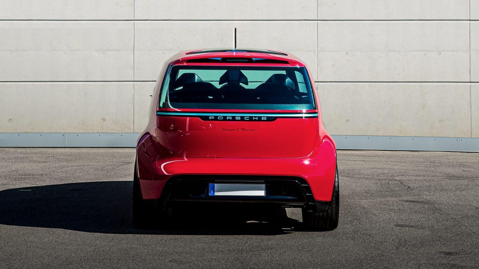 Porsche busje Vision Renndienst