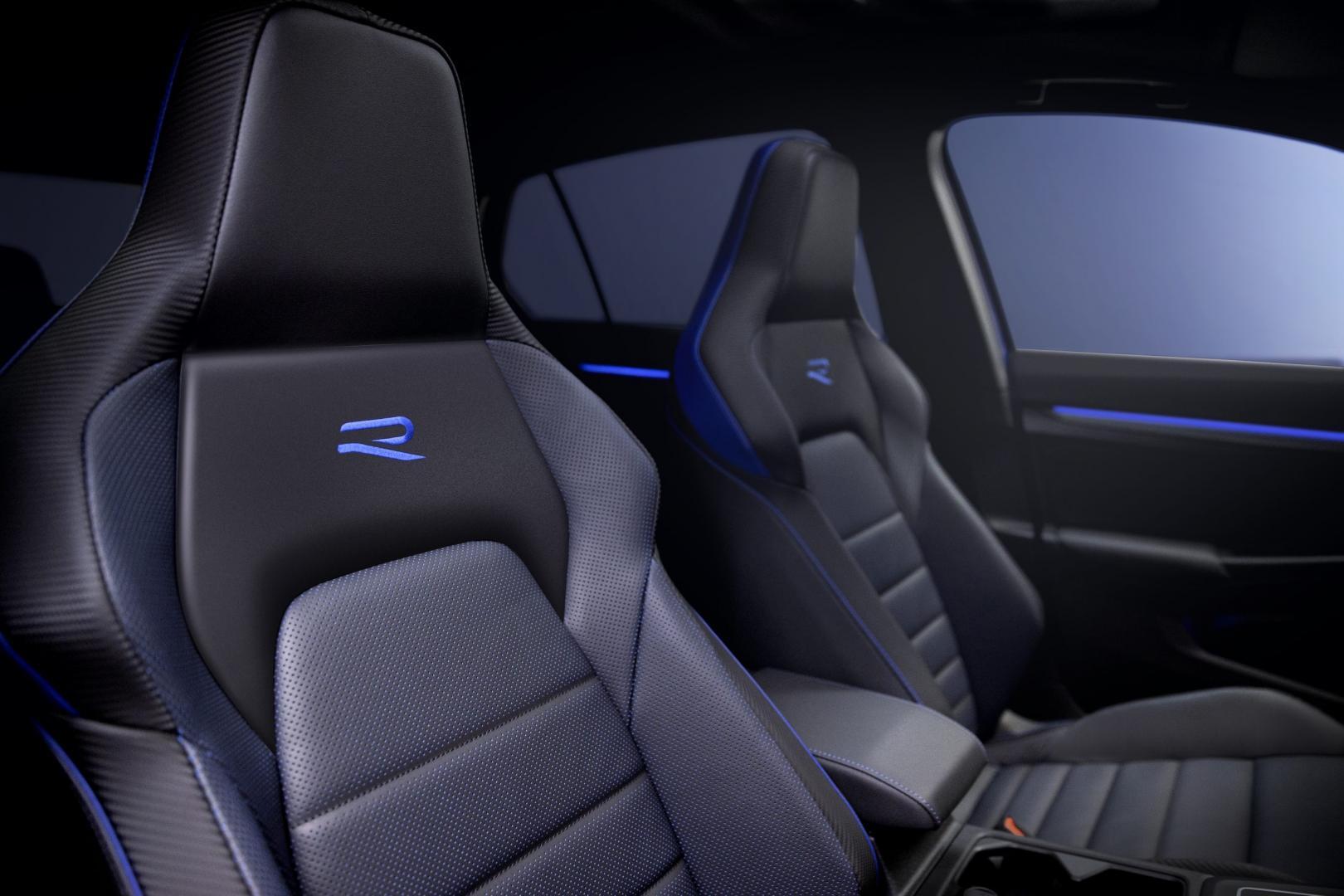 Stoelen Volkswagen Golf 8 R 2020