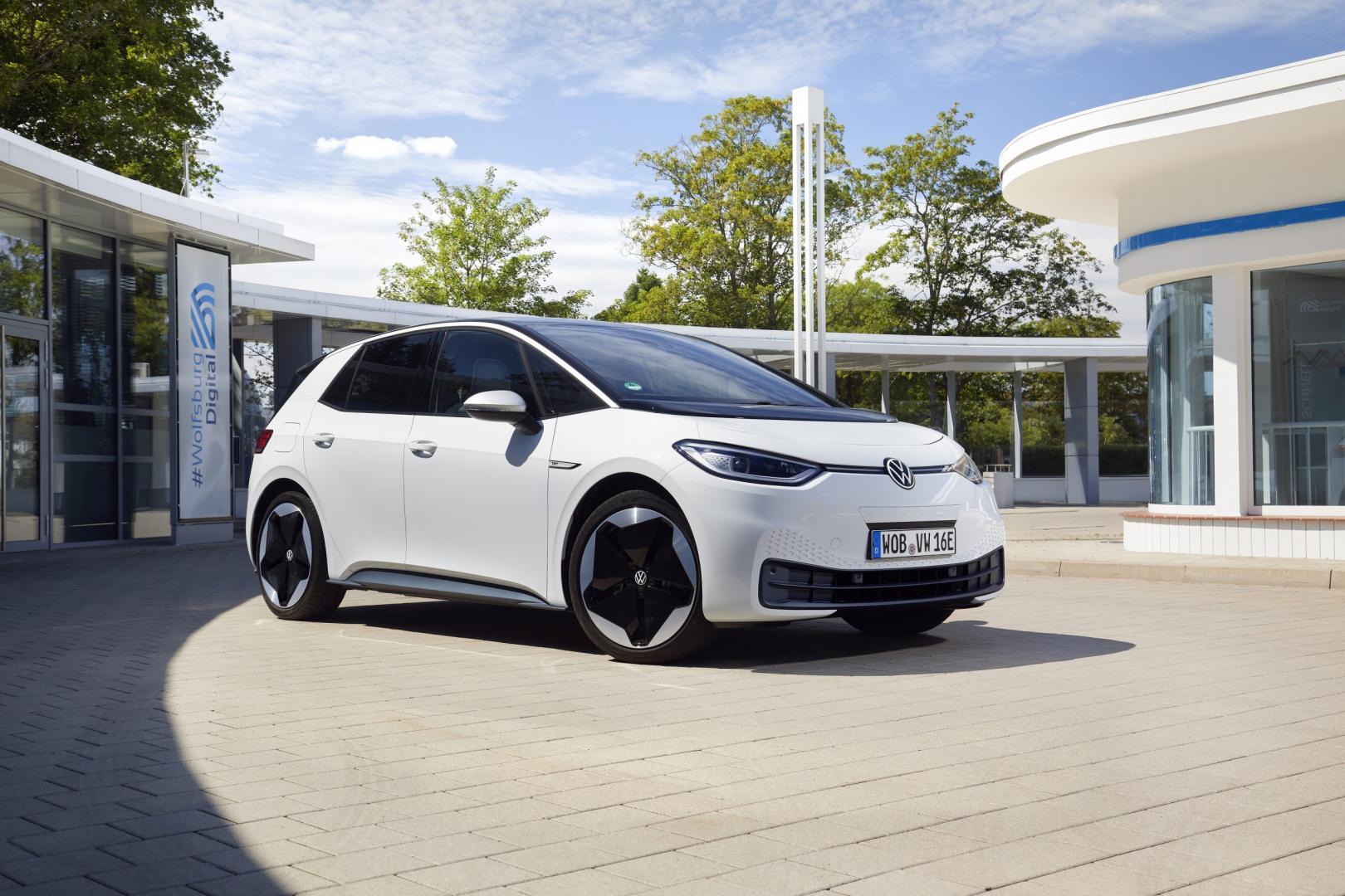Volkswagen ID3 (wit 2020)