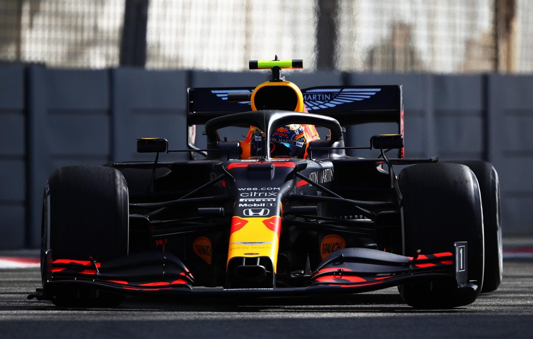 2e vrije training van de GP van Abu Dhabi 2020