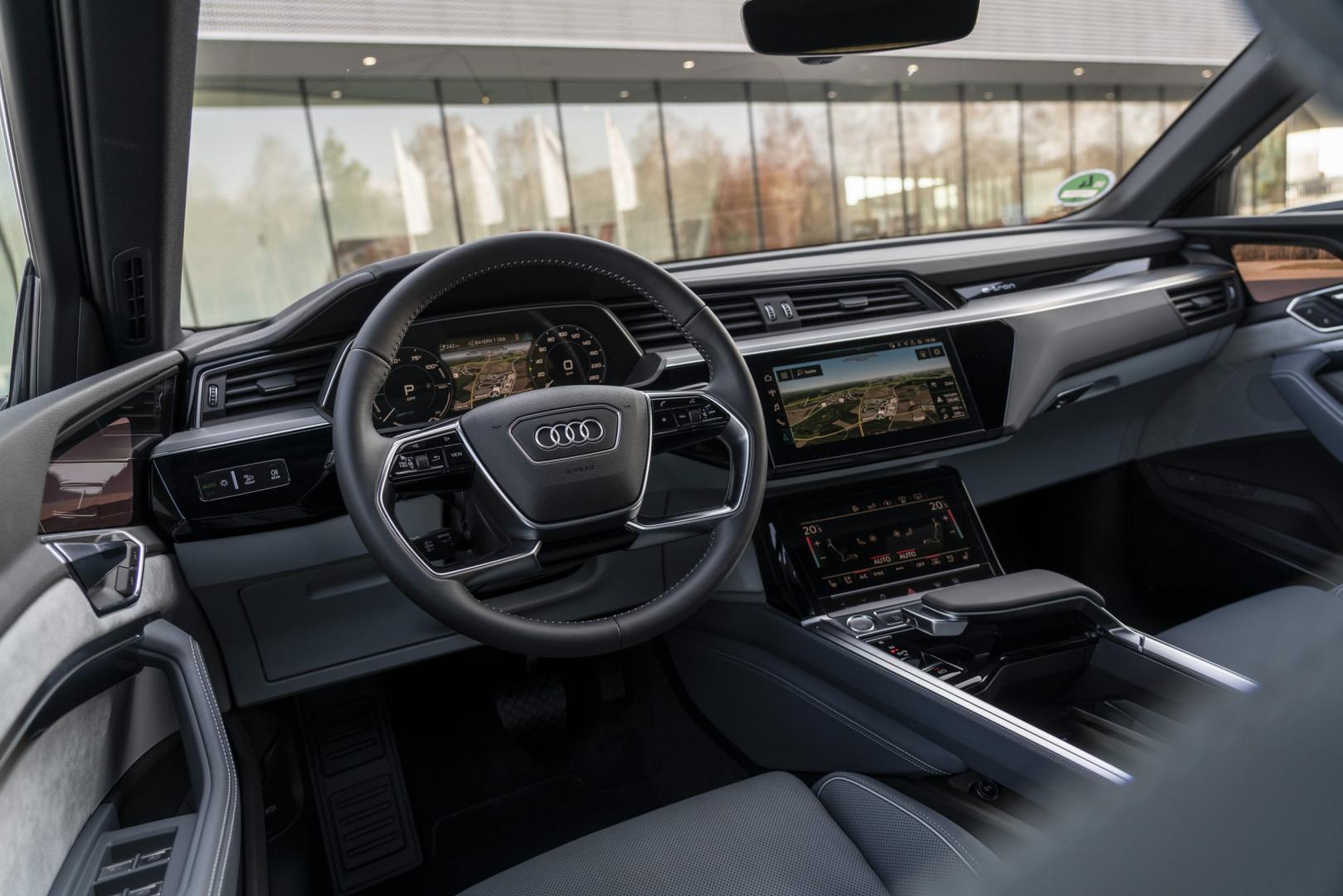 Interieur Audi e-tron Sportback 55 quattro interieur