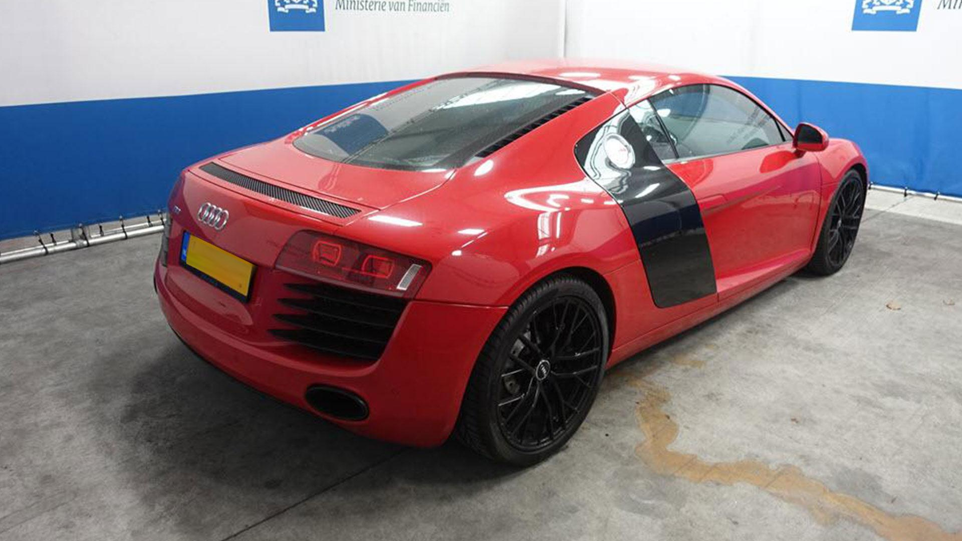 Audi R8 te koop bij Domeinen