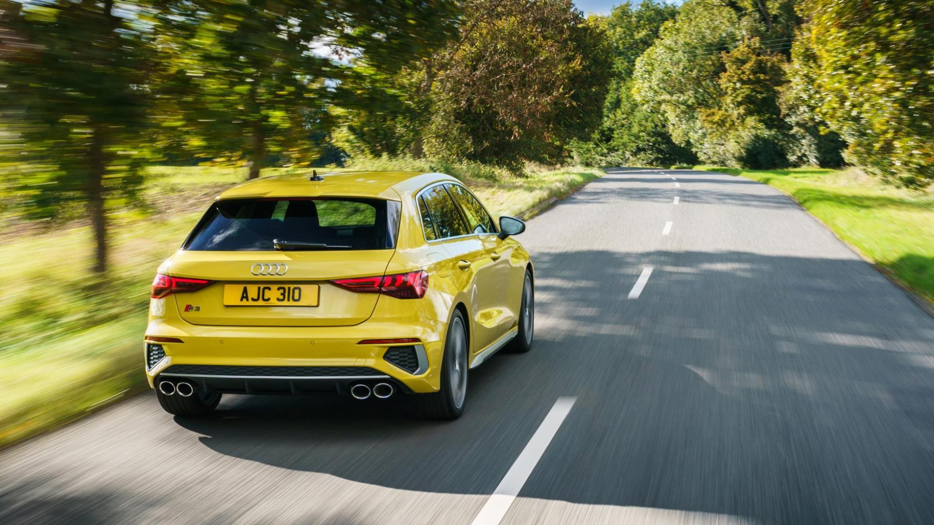 Audi S3 Sportback (2020) - Imola Gelb (Geel)