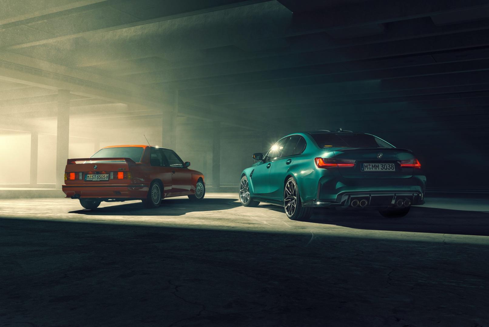 BMW M3 G80 (2020) vs BMW M3 E30 (1986)
