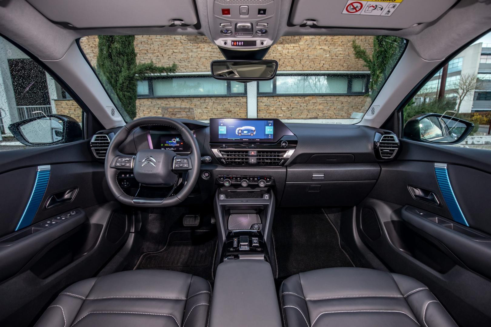 Interieur Citroën ë-C4 Shine