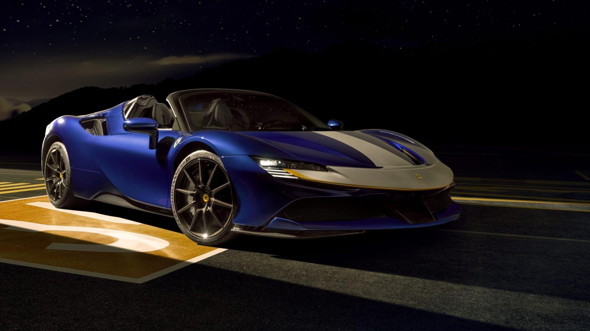 Eco-held van het jaar 2020 Ferrari SF90