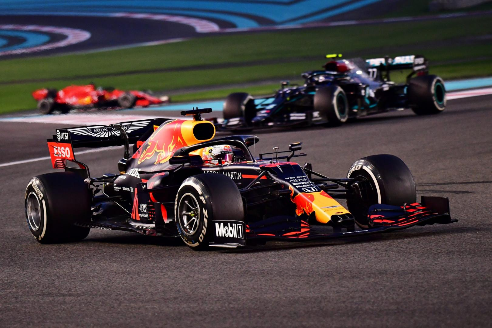 Eindstand van het Formule 1-kampioenschap 2020