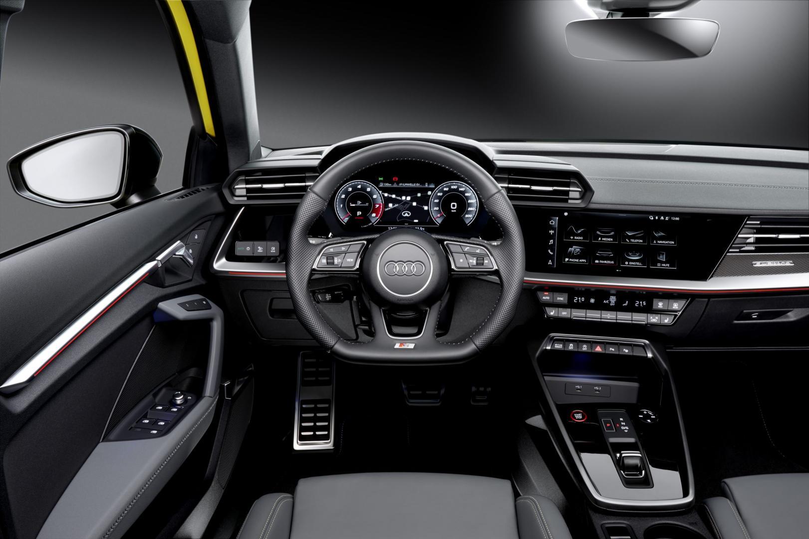 Interieur Audi S3 Sportback (2020) - Imola Gelb (Geel)