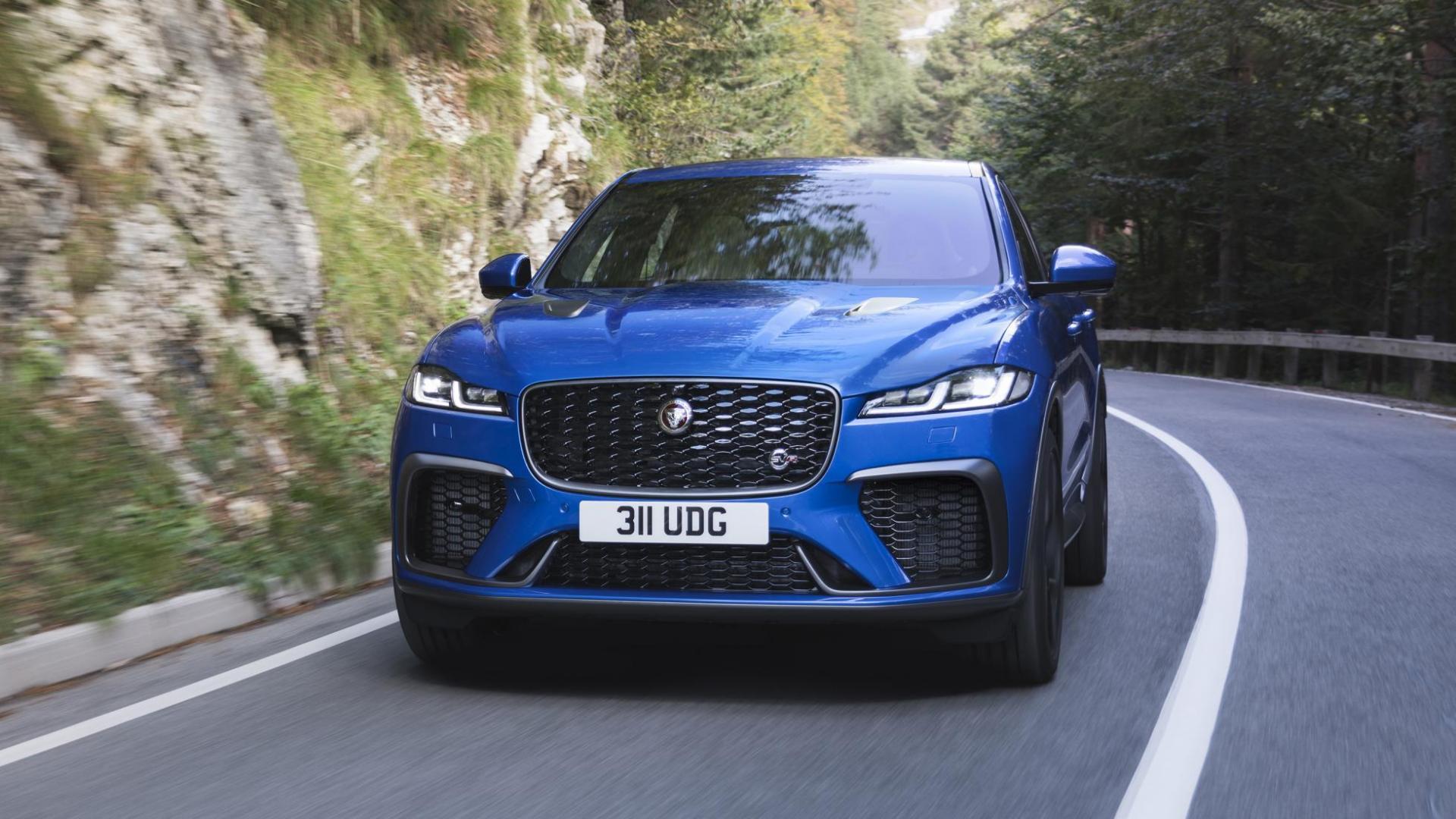 Jaguar F-Pace SVR facelift 2020