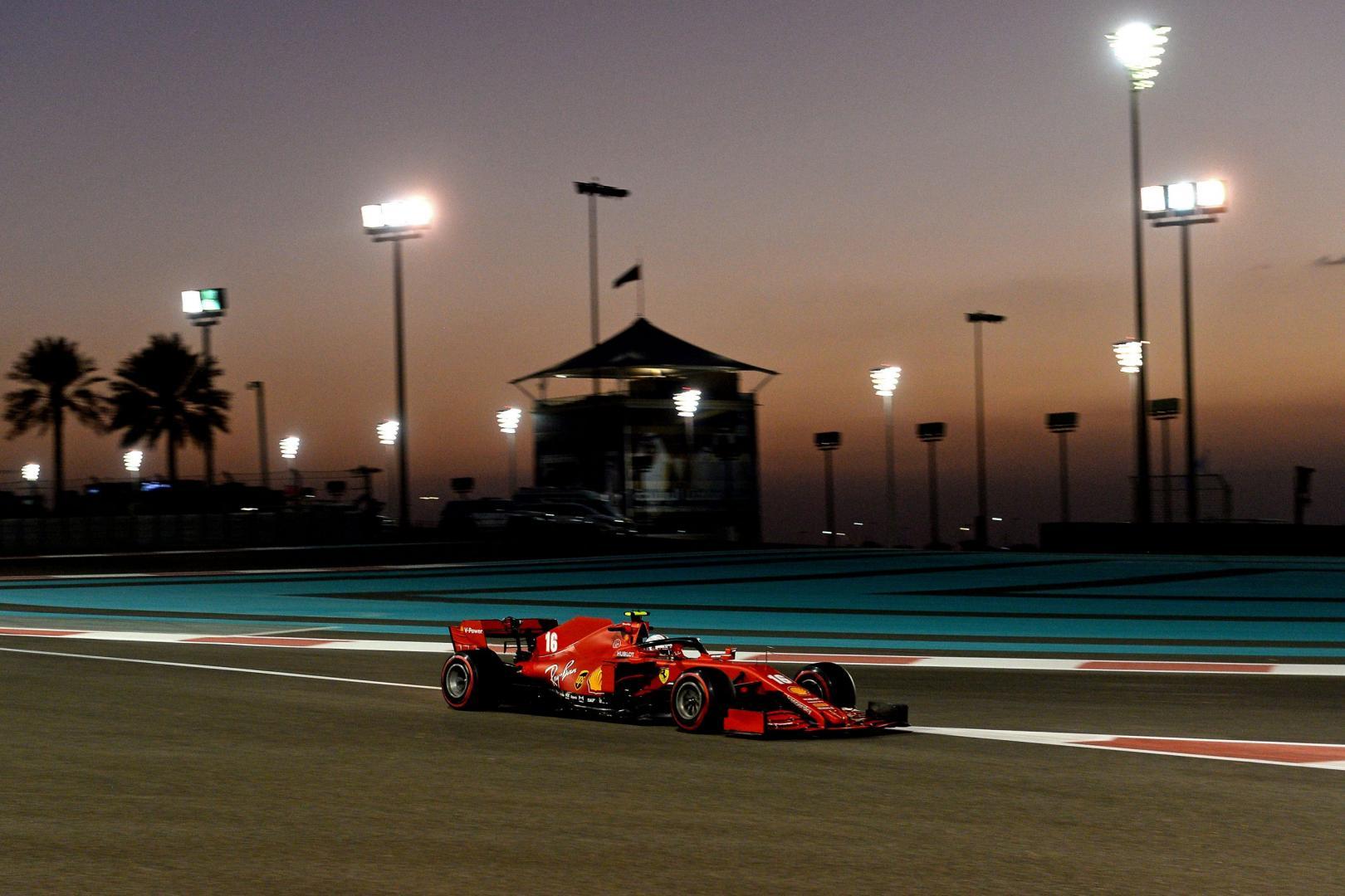 Kwalificatie van de GP van Abu Dhabi 2020
