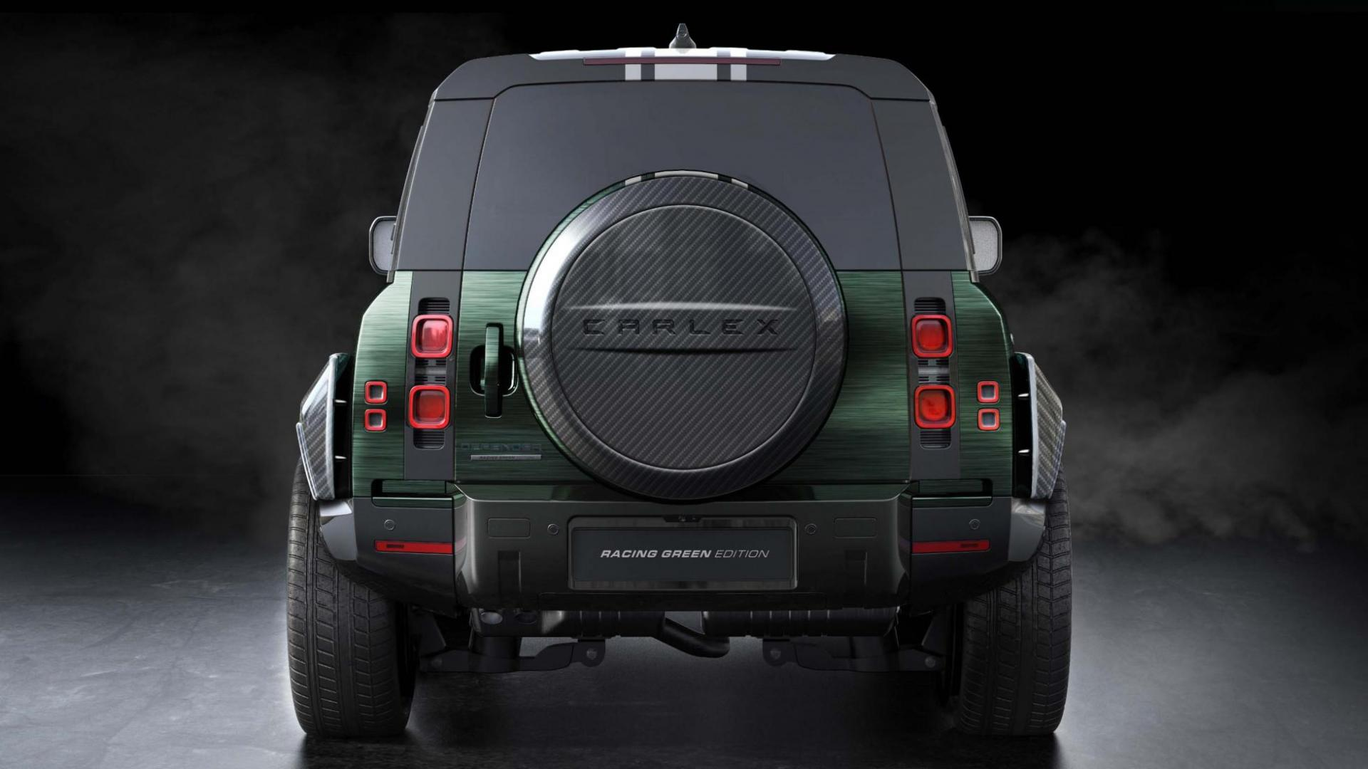 LaRo Defender Racing Green Edition door Carlex