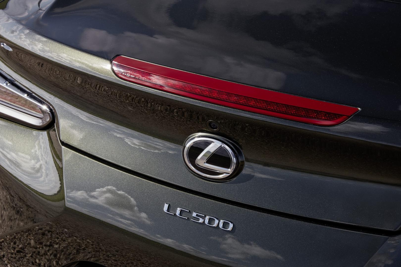 Lexus LC 500 Convertible badge