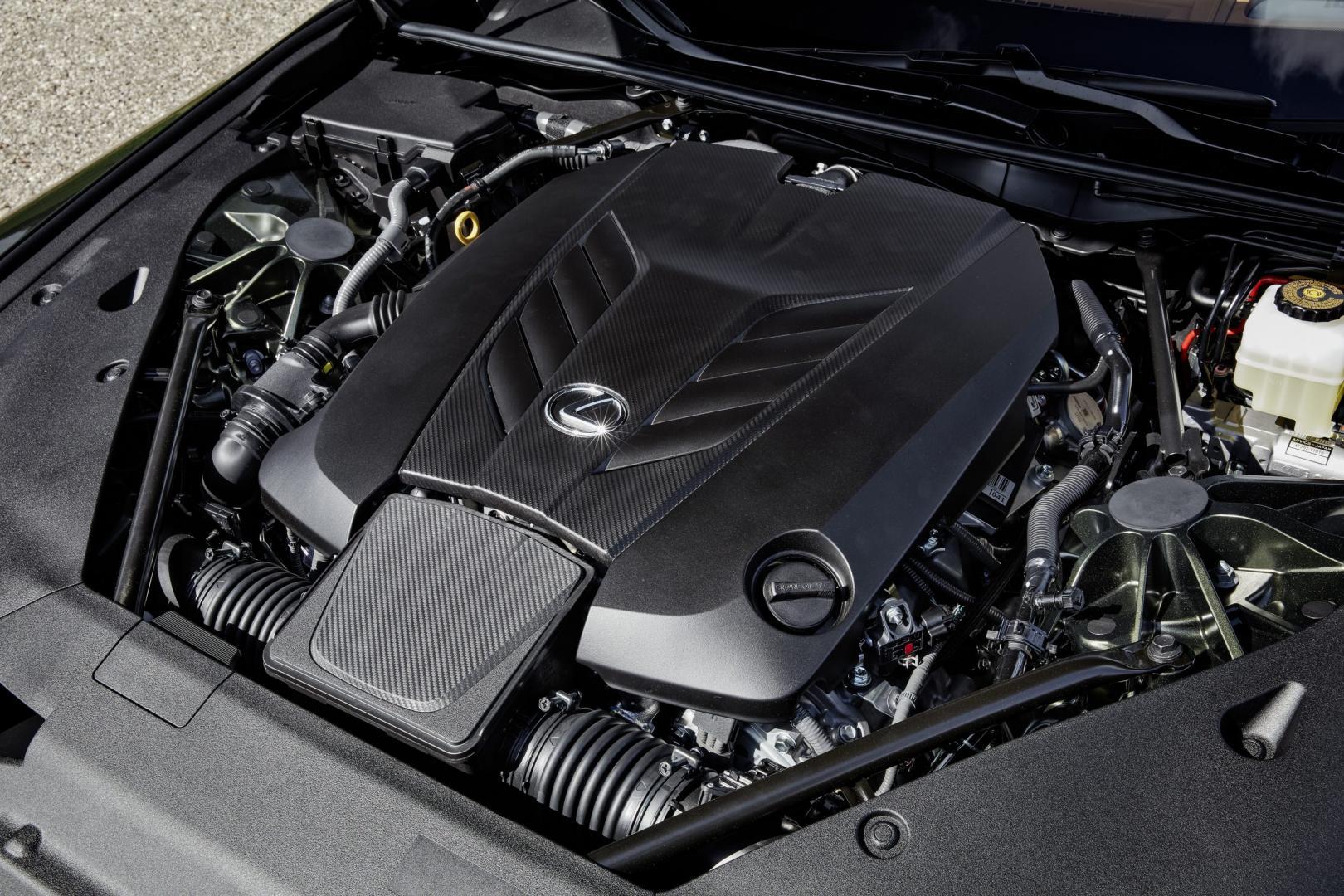 Motor Lexus LC 500 Convertible