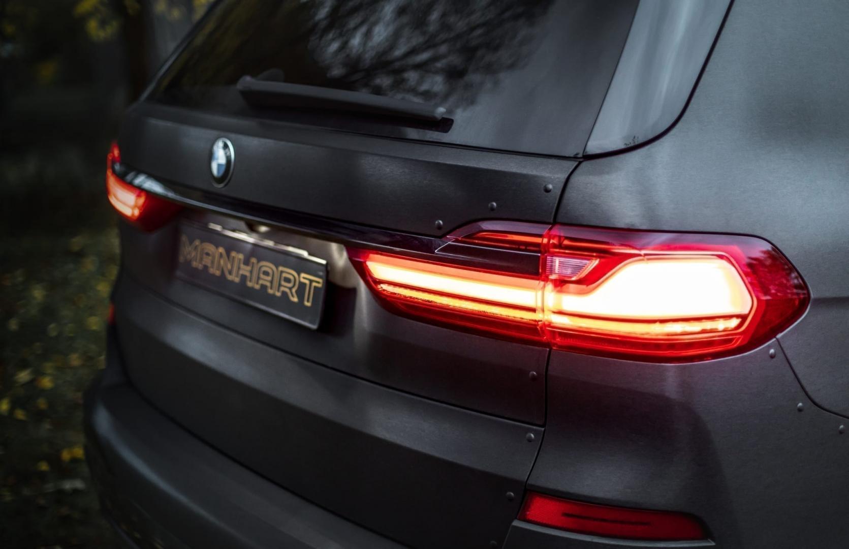 BMW X7 MHX7 650 Dirt Edition door Manhart