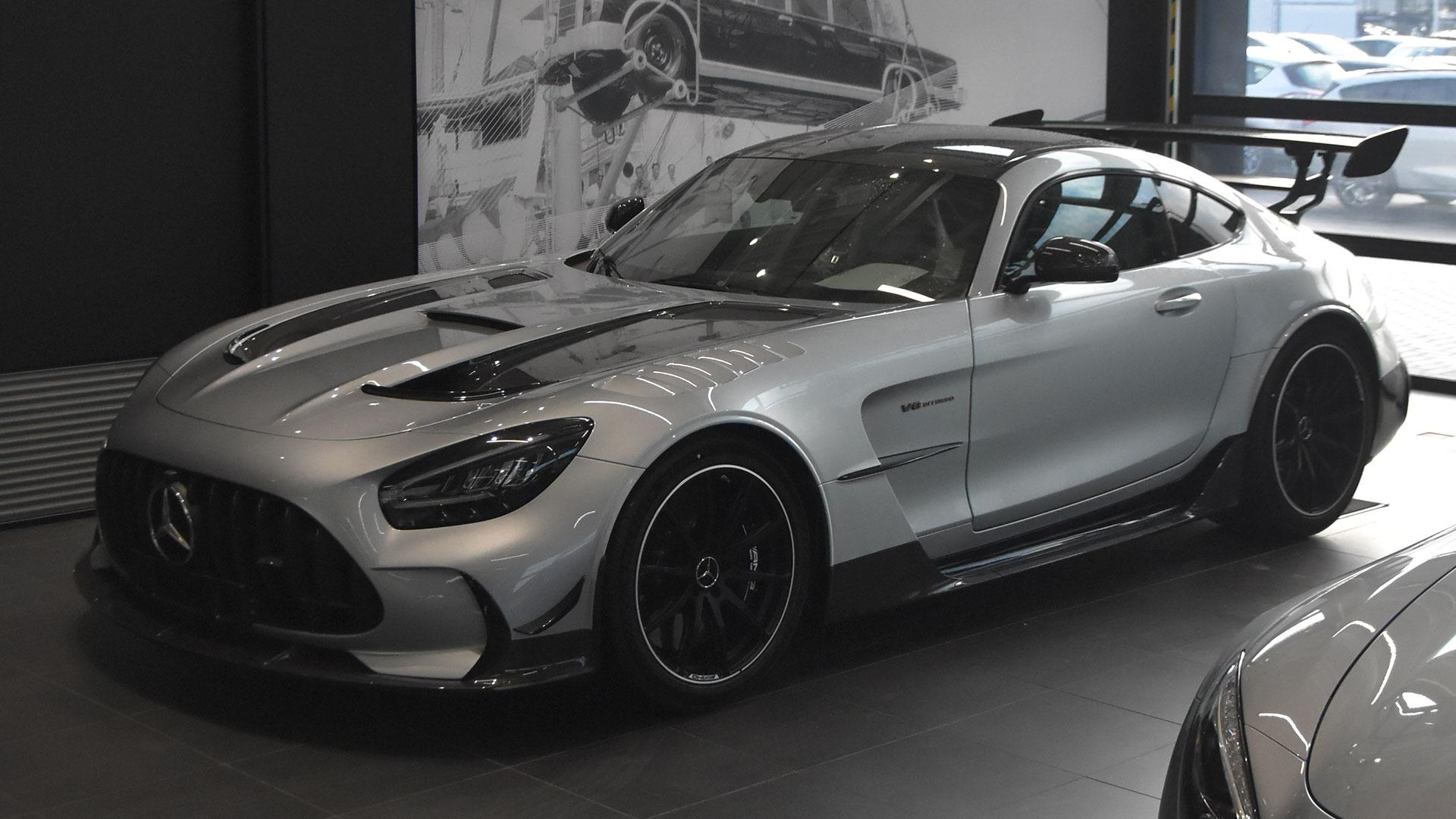 1e Mercedes-AMG GT Black Series in Nederland
