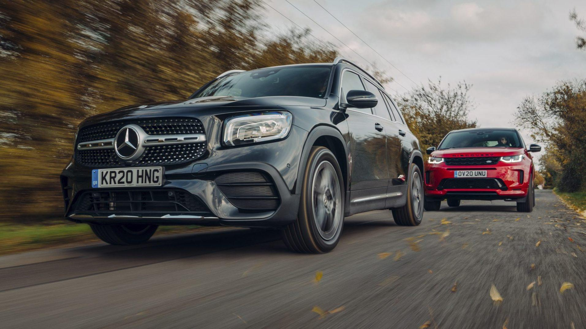 Mercedes GLB vs Land Rover Discovery Sport